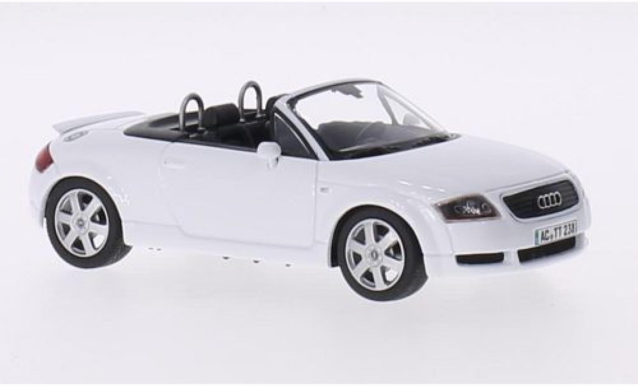 Audi TT 1/43 Minichamps Roadster blanche 1999