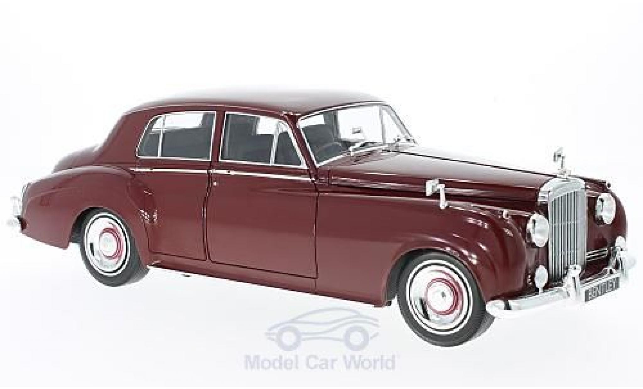 Bentley S2 1/18 Minichamps rouge 1960