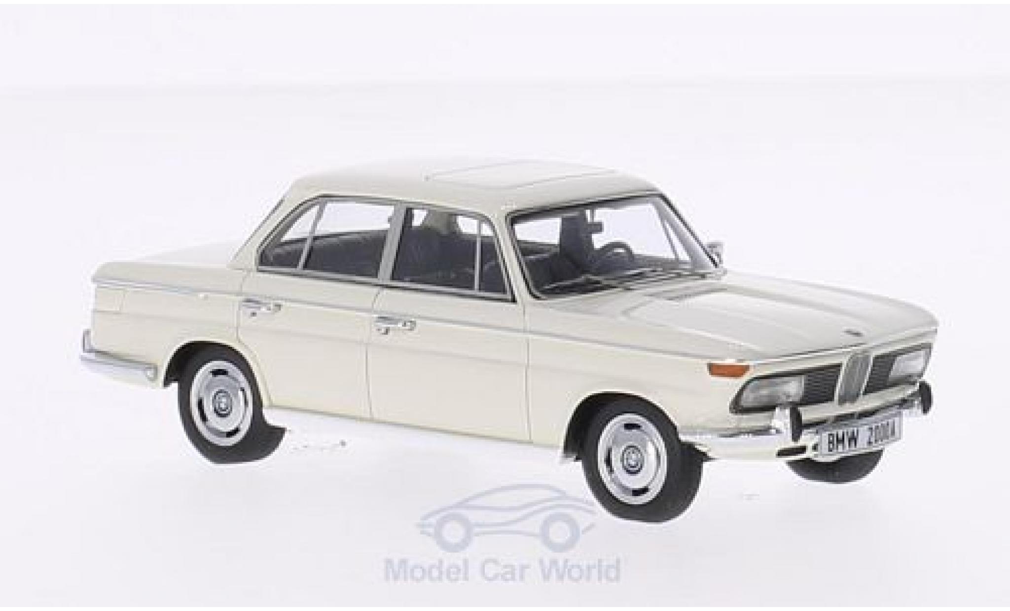 Bmw 2000 1/43 Minichamps A blanche 1962