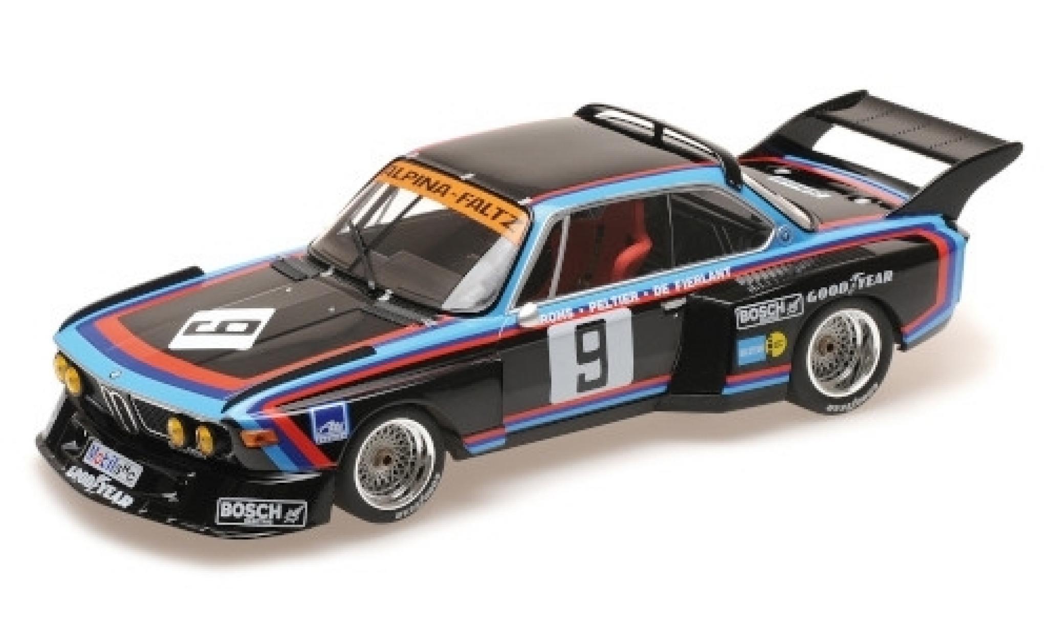 Bmw 3.5 1/18 Minichamps CSL No.9 Alpina-Faltz 1000 Km Nürburgring 1976 H.de Fierlant/H.Grohs/A.Peltier