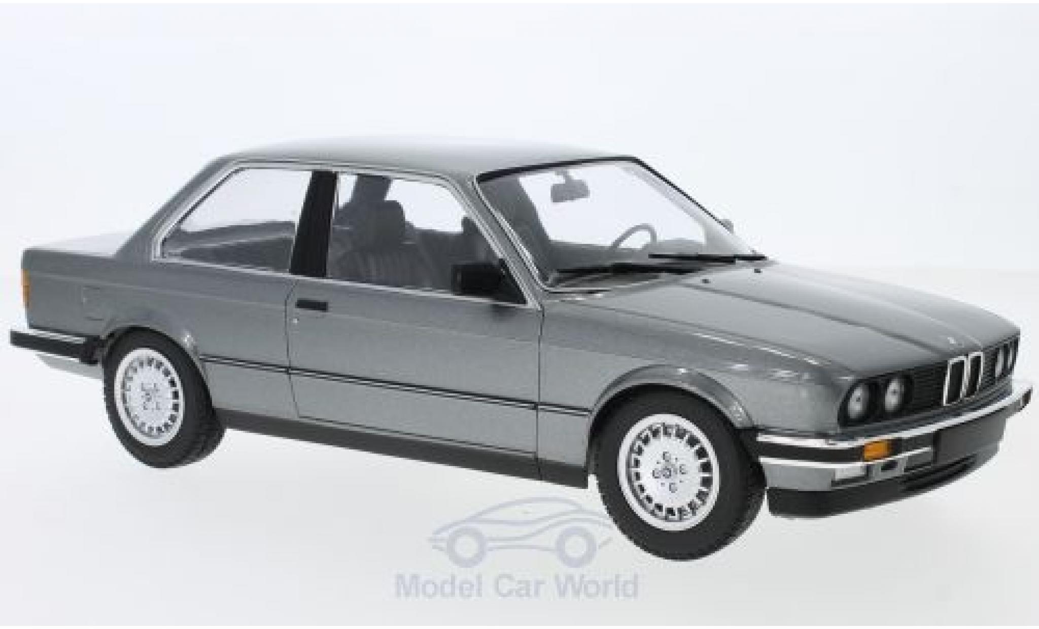 Bmw 323 1/18 Minichamps i (E30) metallise grise 1982