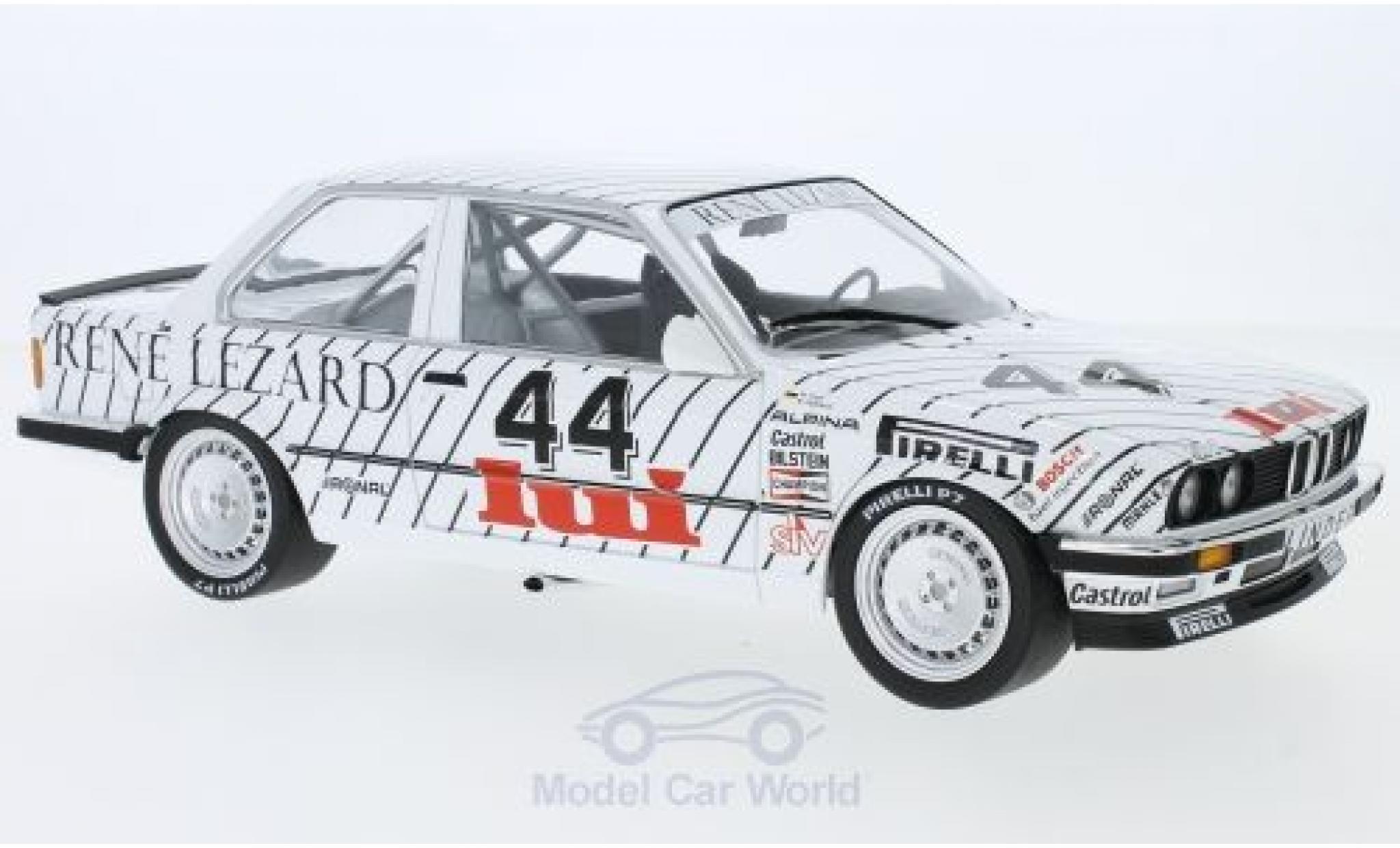Bmw 325 E30 1/18 Minichamps i  No.44 Linder ETCC Zolder 1986 W.Vogt/M.Oestreich