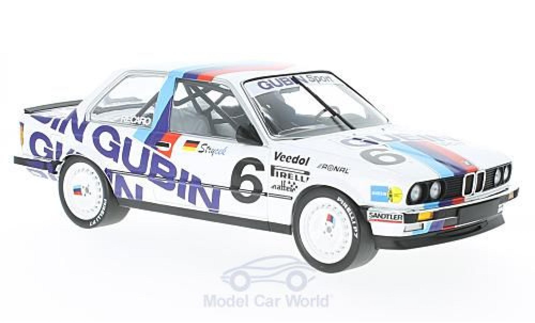 Bmw 325 1/18 Minichamps BMW i No.6 Gubin Sport DTM 1986 V.Strycek