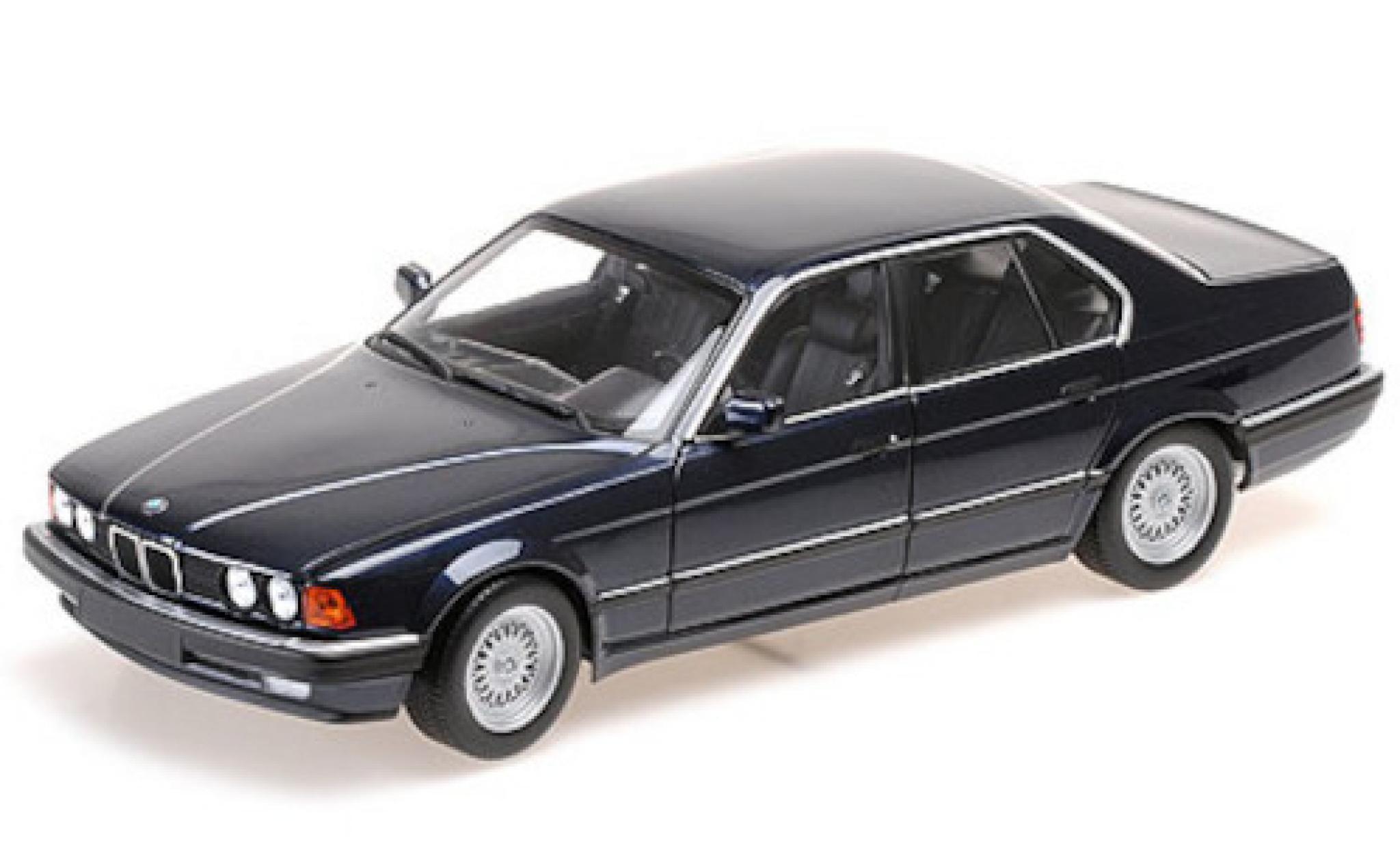 Bmw 730 1/18 Minichamps i (E32) metallise blue 1986