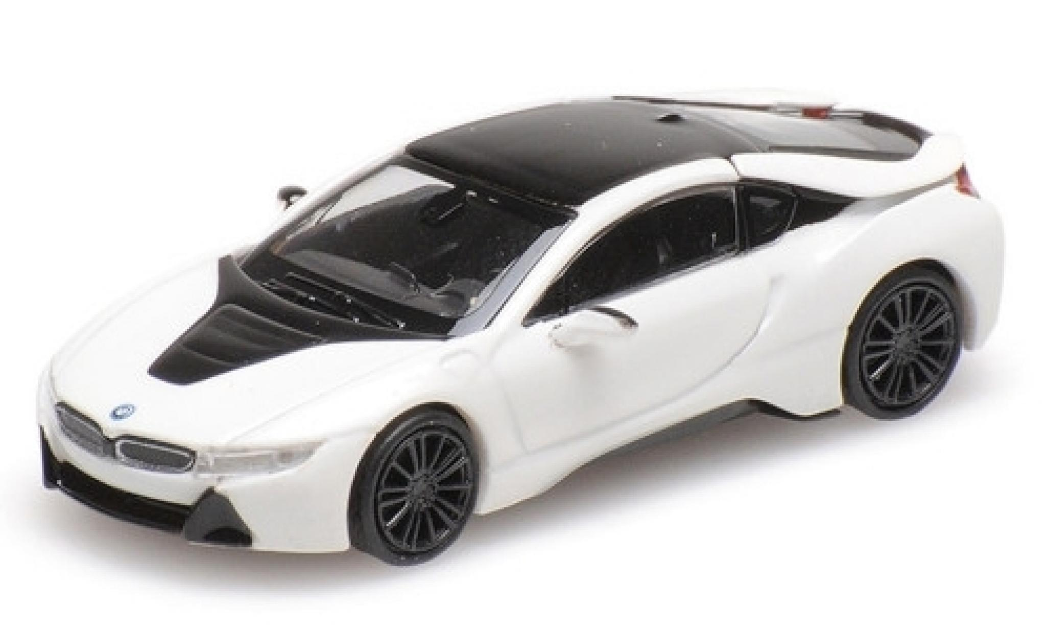 Bmw i8 1/87 Minichamps Coupe metallise white 2015