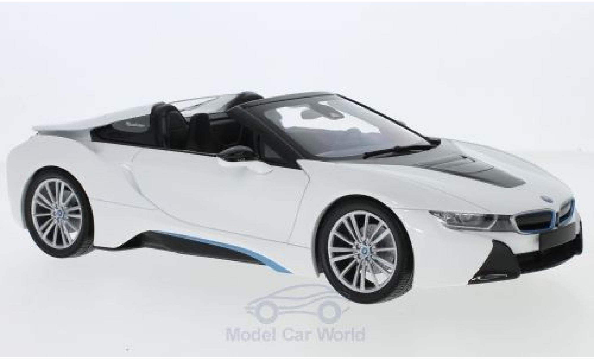 Bmw i8 1/18 Minichamps Roadster (I15) metallise weiss 2018