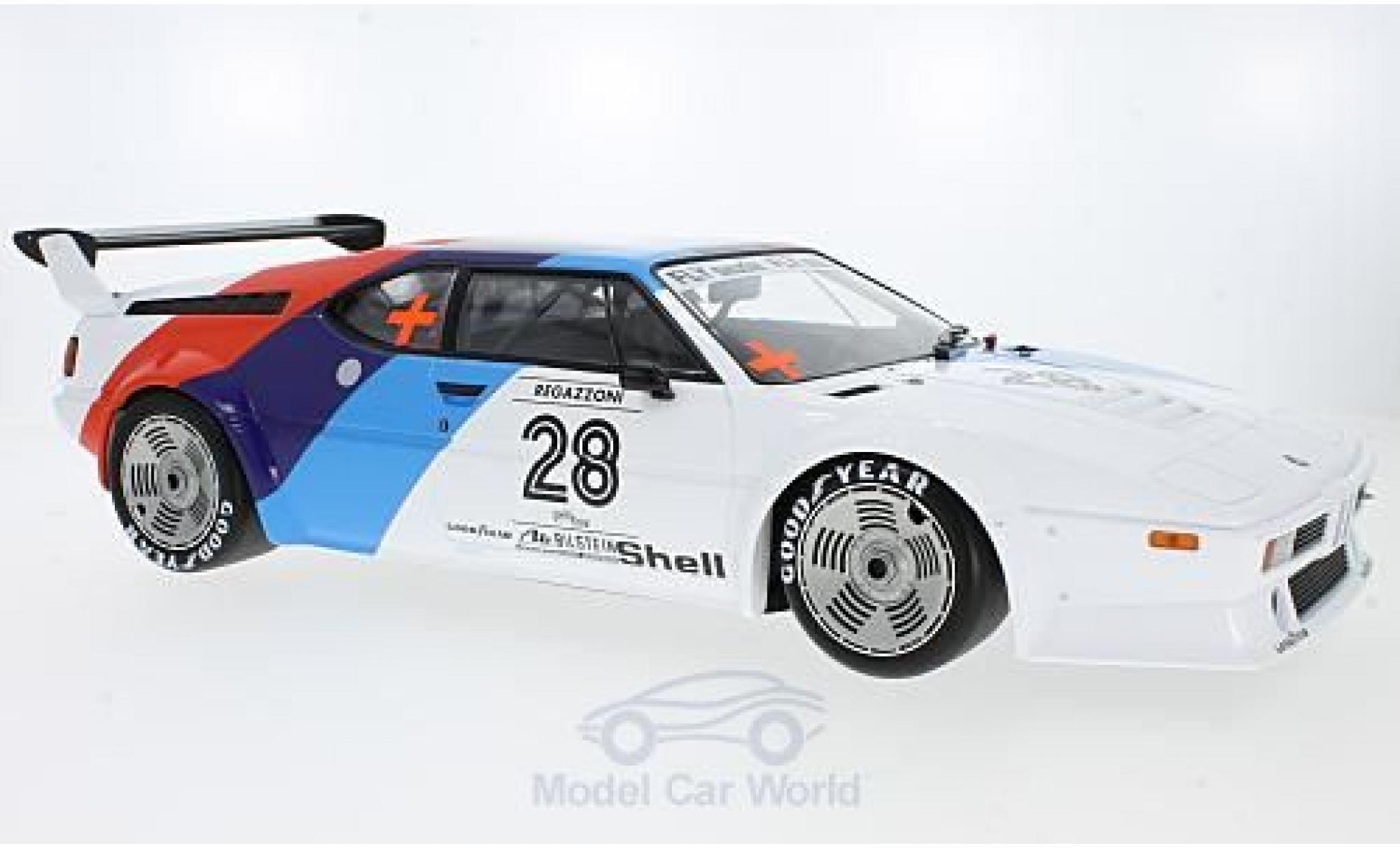 Bmw M1 1979 1/12 Minichamps BMW Procar No.28 BMW Motorsport Procar 1979 C.Regazzoni
