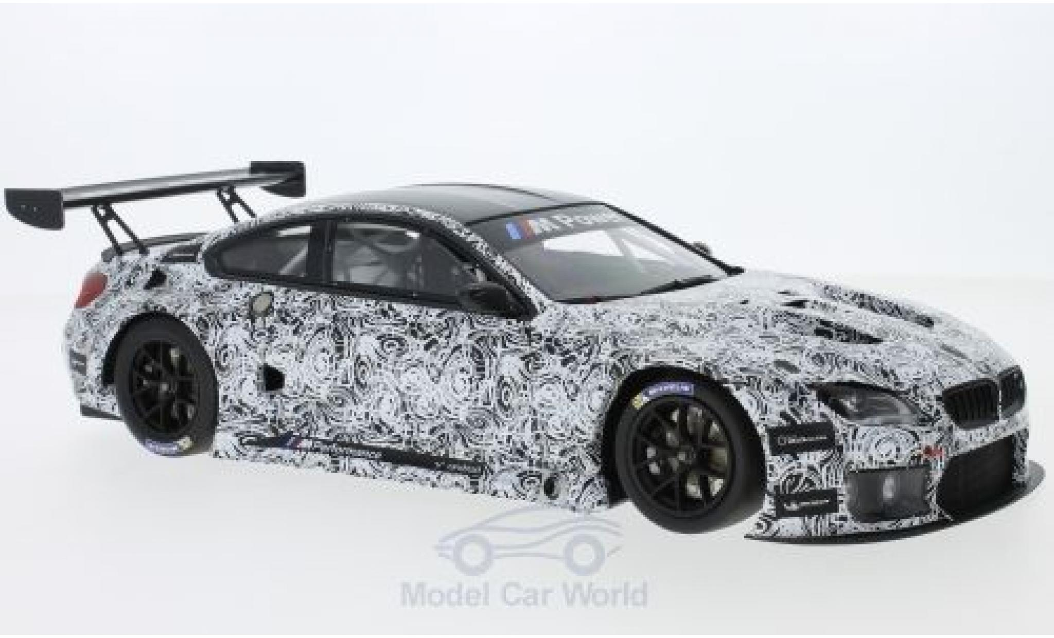Bmw M6 1/18 Minichamps GT3 Presentation Spa 2015