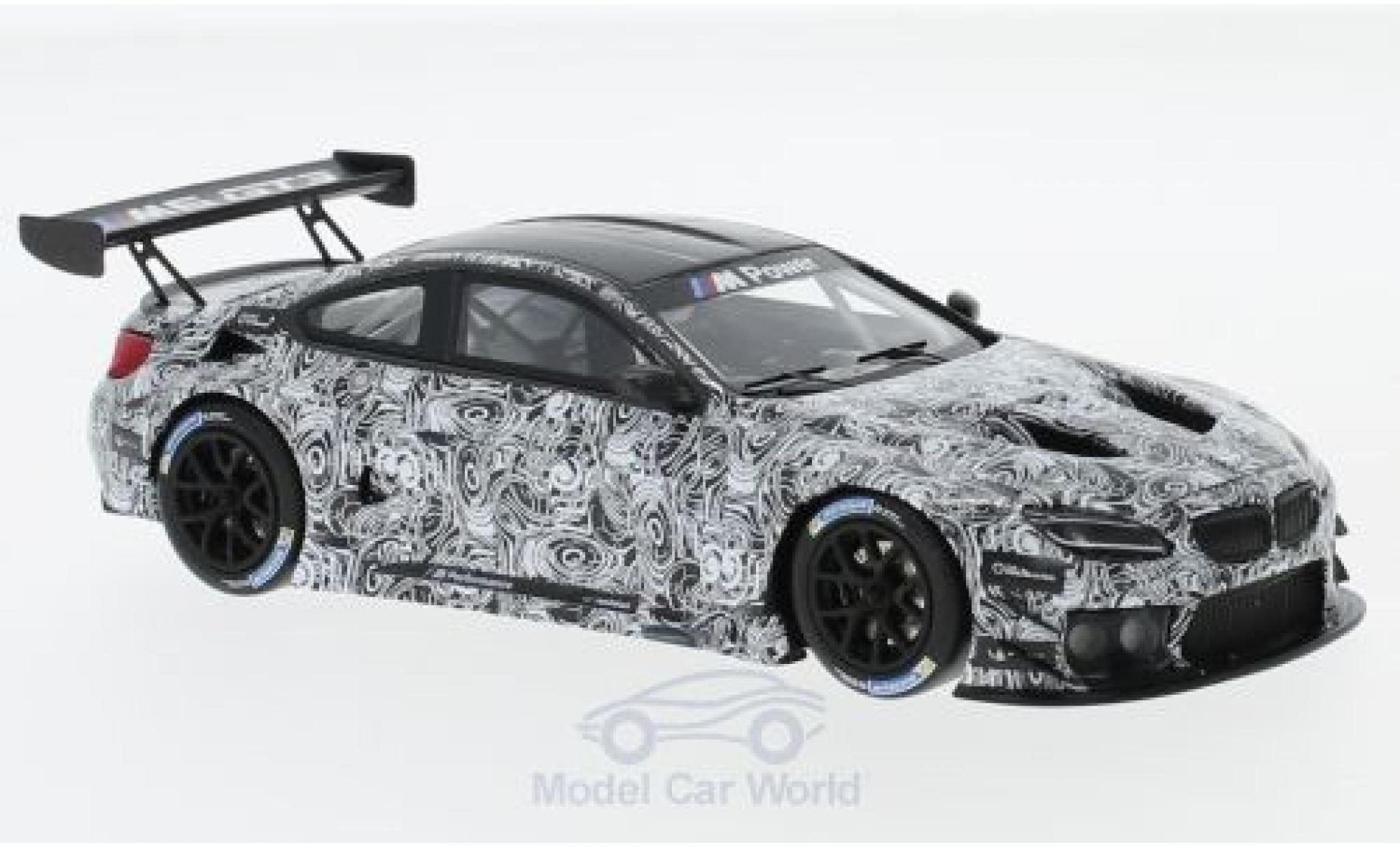 Bmw M6 1/43 Minichamps GT3 Spa 2015 Presentation