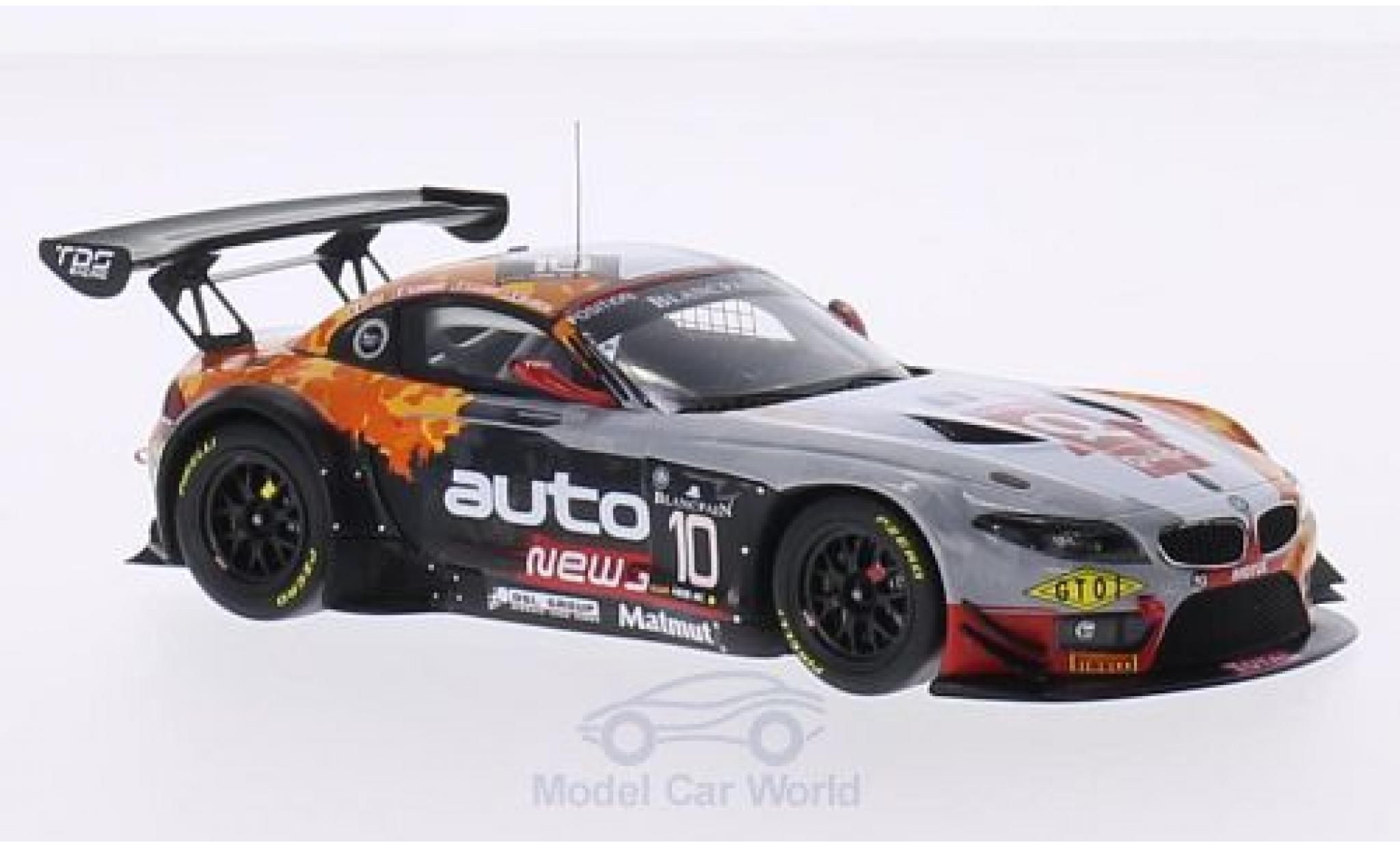 Bmw Z4 E89 1/43 Minichamps BMW GT3 (E89) No.10 Team TDS Racing 24h Spa 2014 N.Armindo/E.Clement/B.Lariche/O.Pla