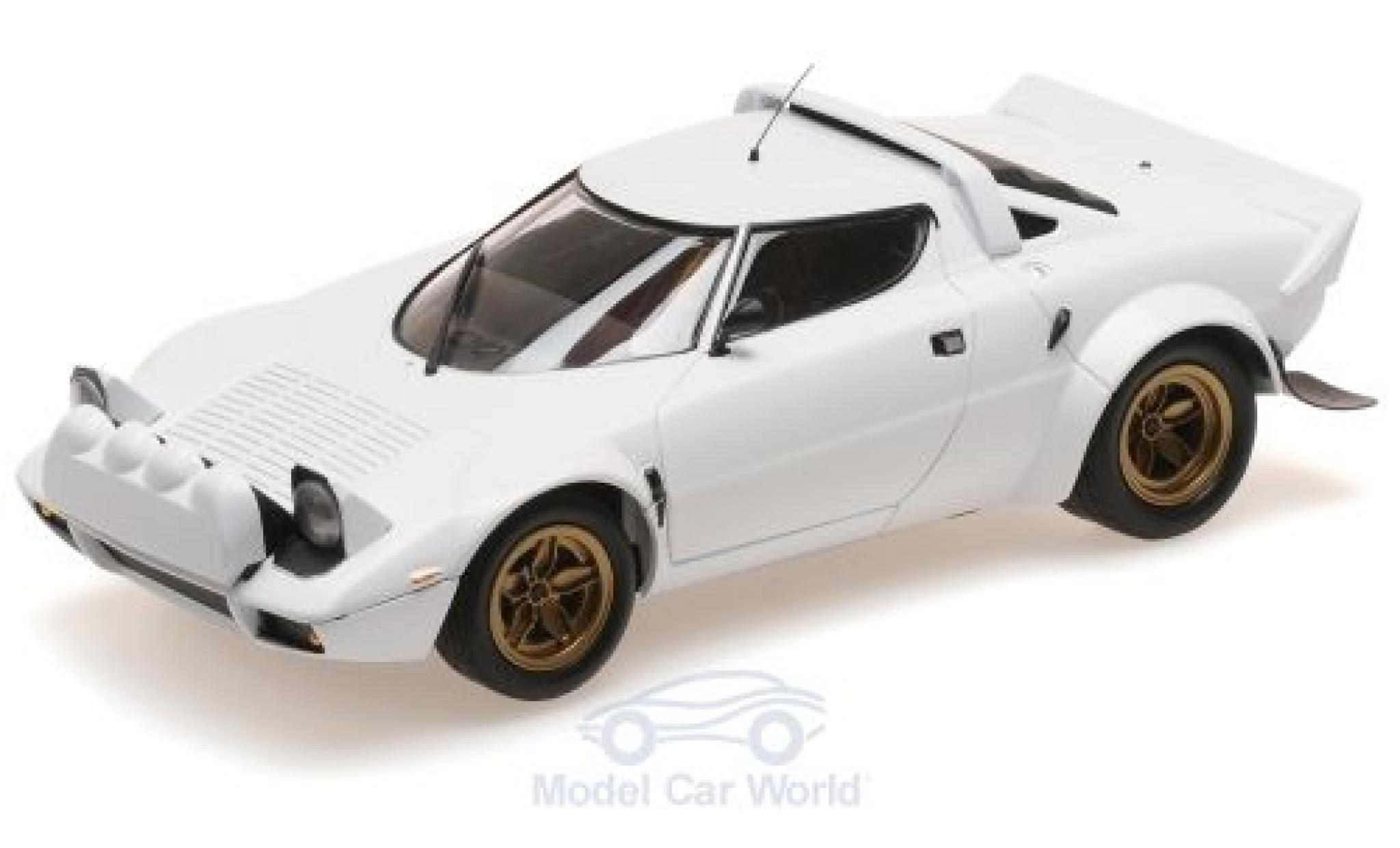 Lancia Stratos 1/18 Minichamps white 1974