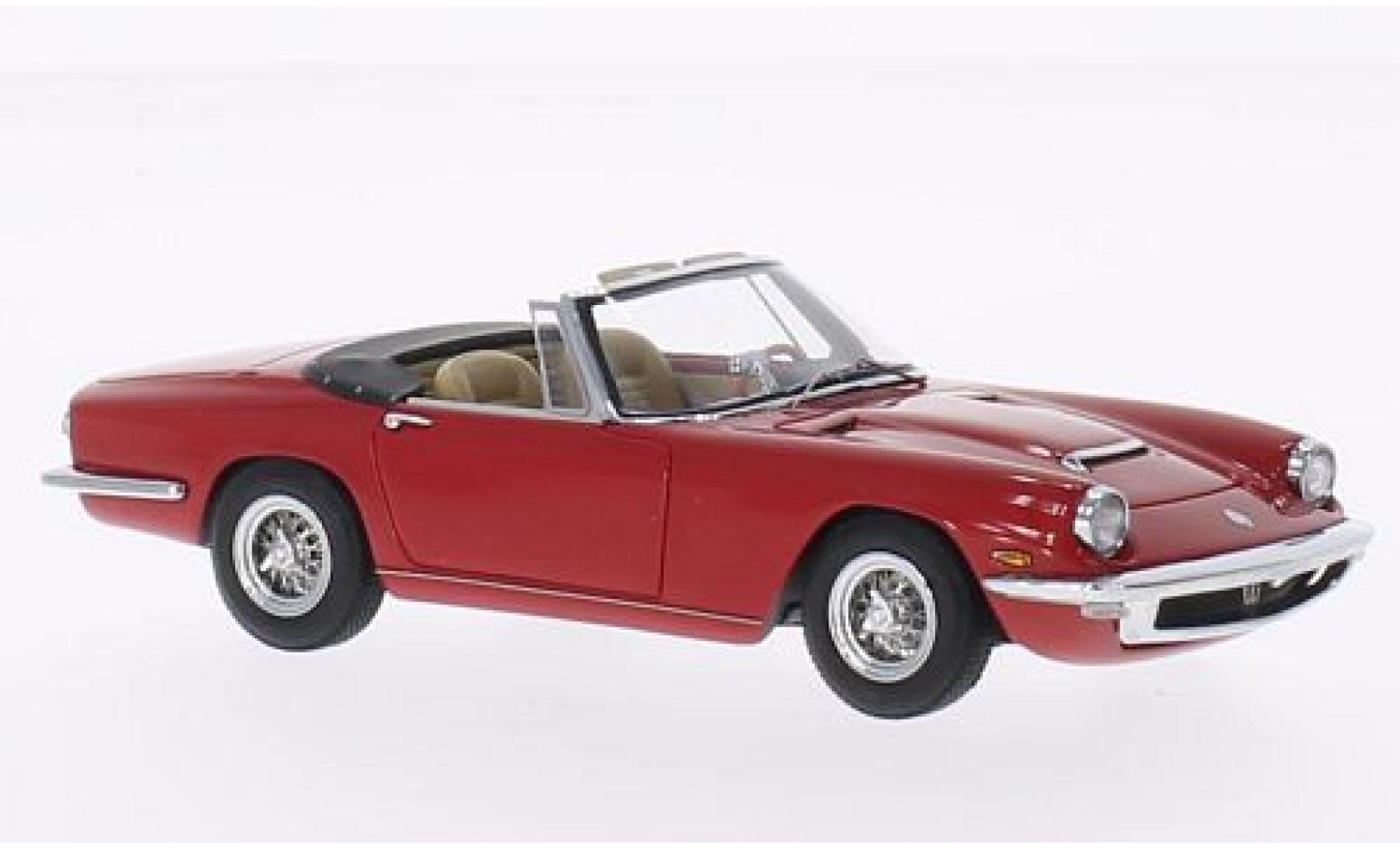 Maserati Mistral 1/43 Minichamps Spyder rouge 1964