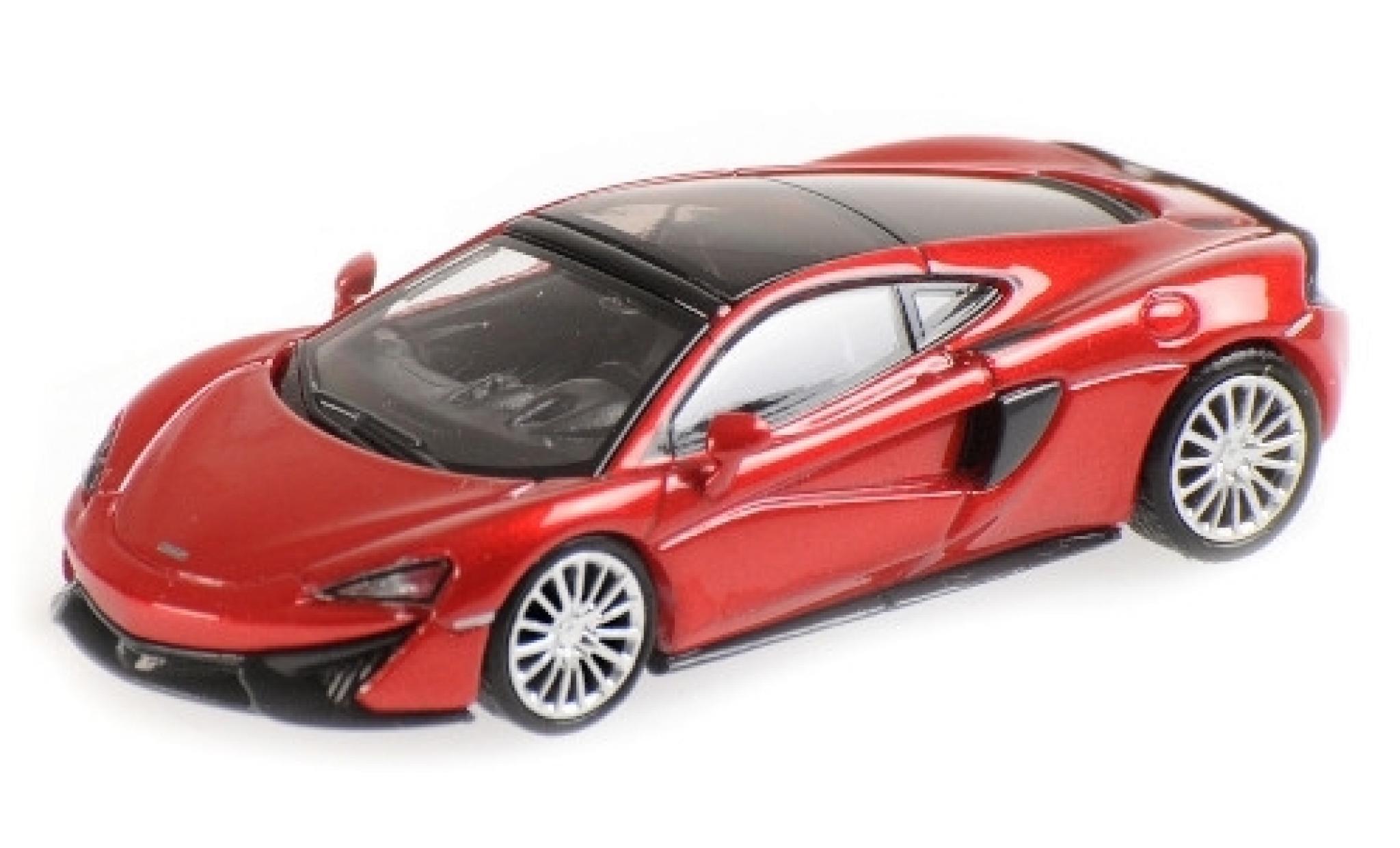 McLaren 570 1/87 Minichamps GT metallise rouge