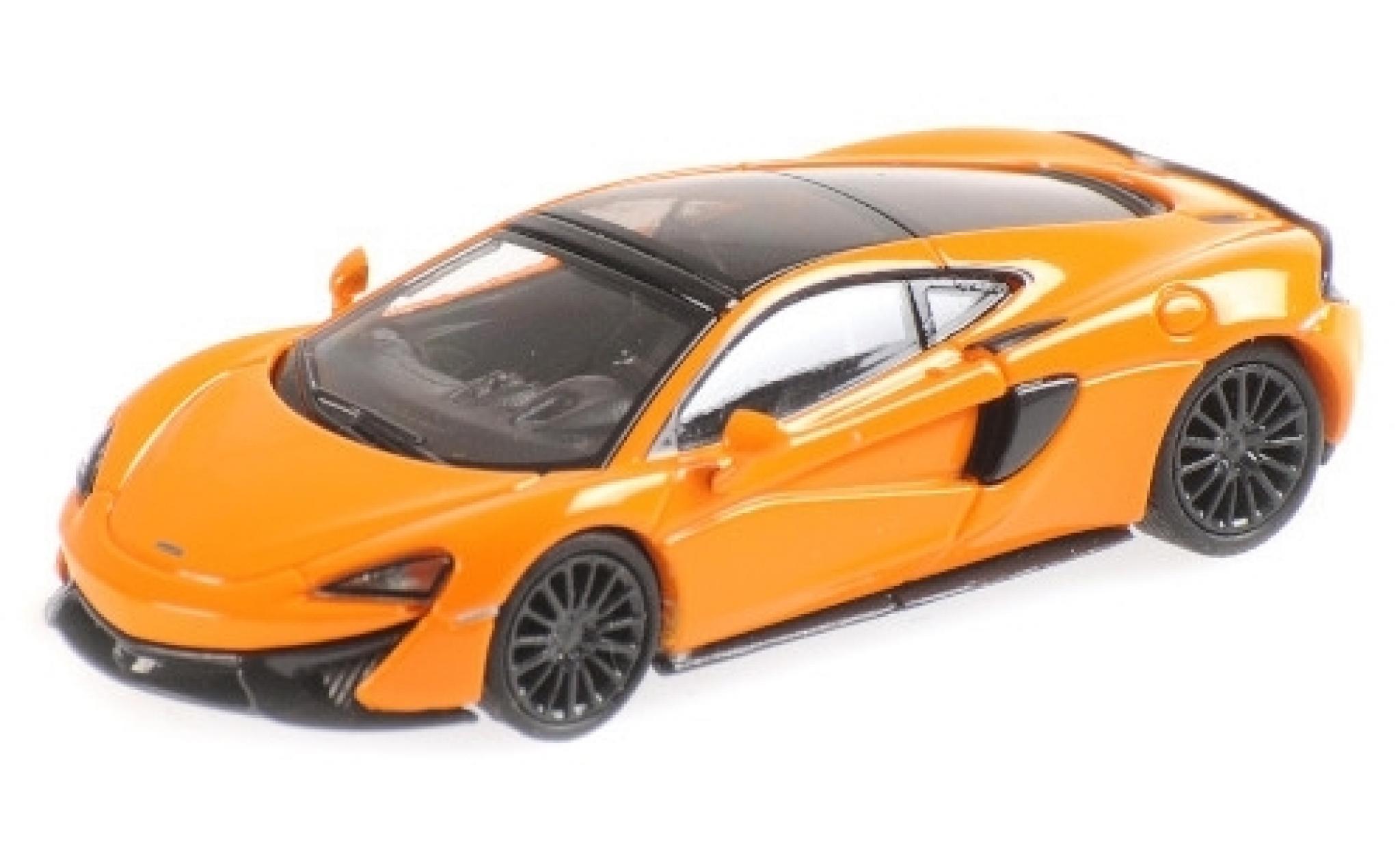 McLaren 570 1/87 Minichamps GT orange
