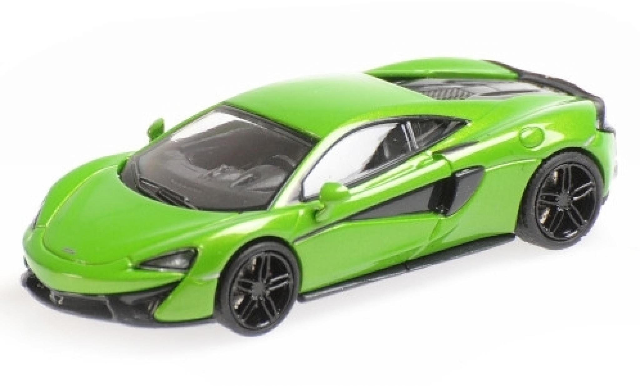 McLaren 570 1/87 Minichamps S metallise verte