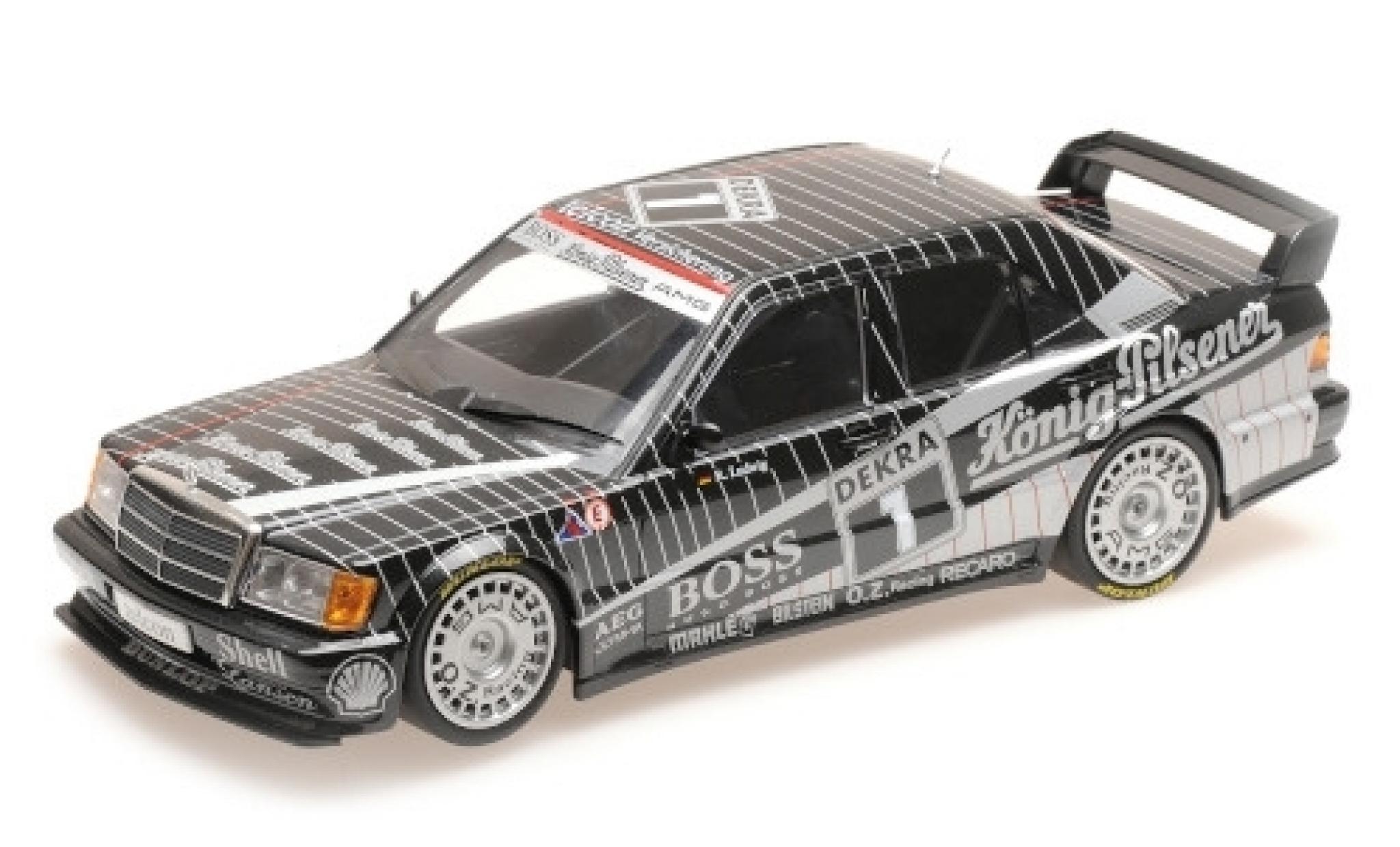 Mercedes 190 1/18 Minichamps E 2.5-16 Evo 1 No.1 AMG Boss / König-Pilsener DTM 1989 K.Ludwig