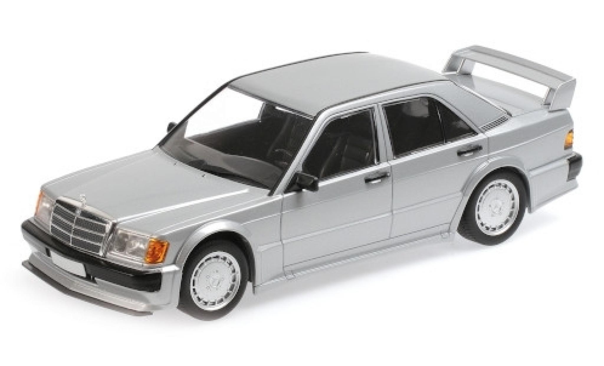 Mercedes 190 1/18 Minichamps E 2.5-16 Evo 1 (W201) grise 1989
