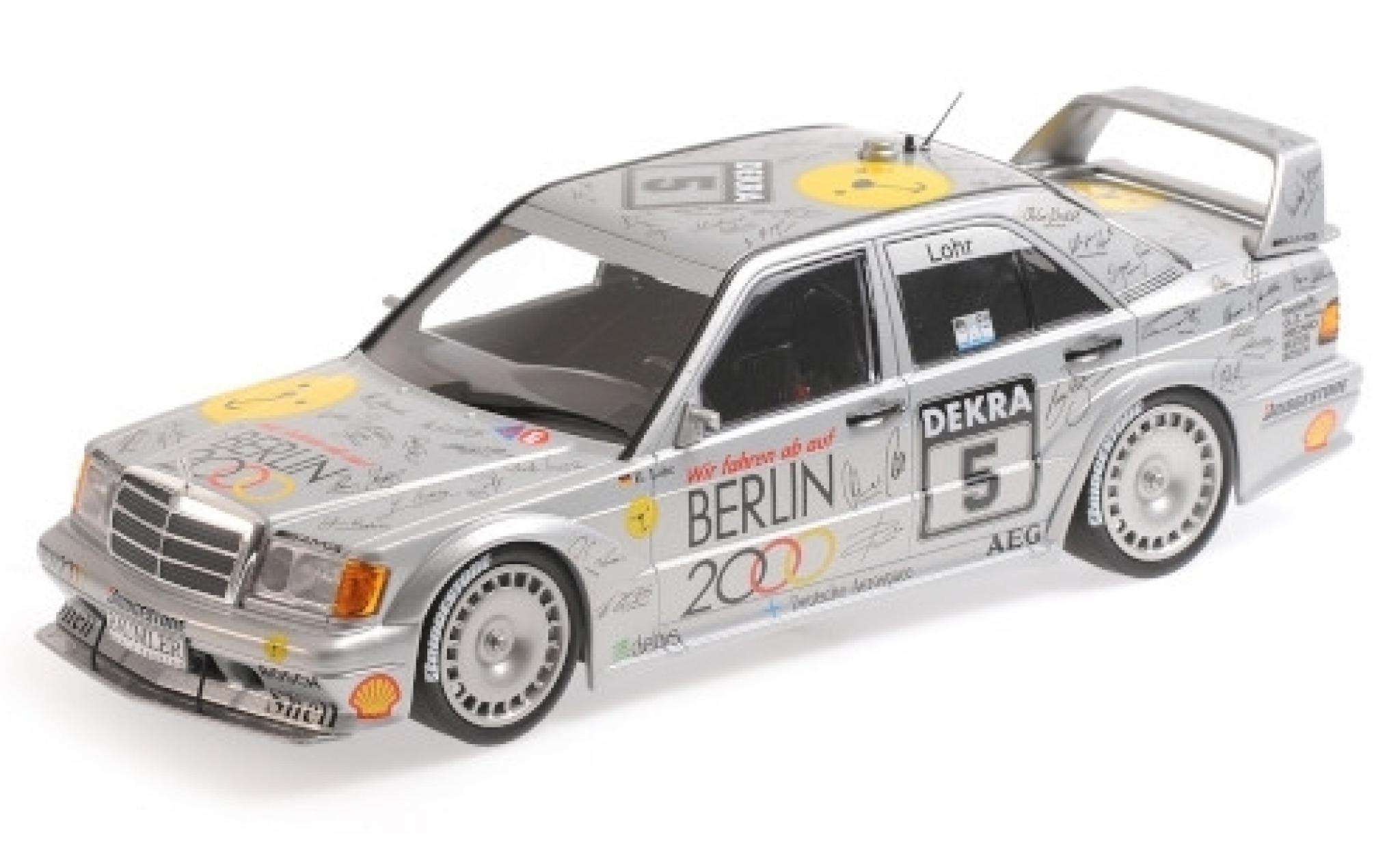 Mercedes 190 1/18 Minichamps E 2.5-16 EVO 2 No.5 Team AMG- Berlin 2000 DTM 1992 E.Lohr