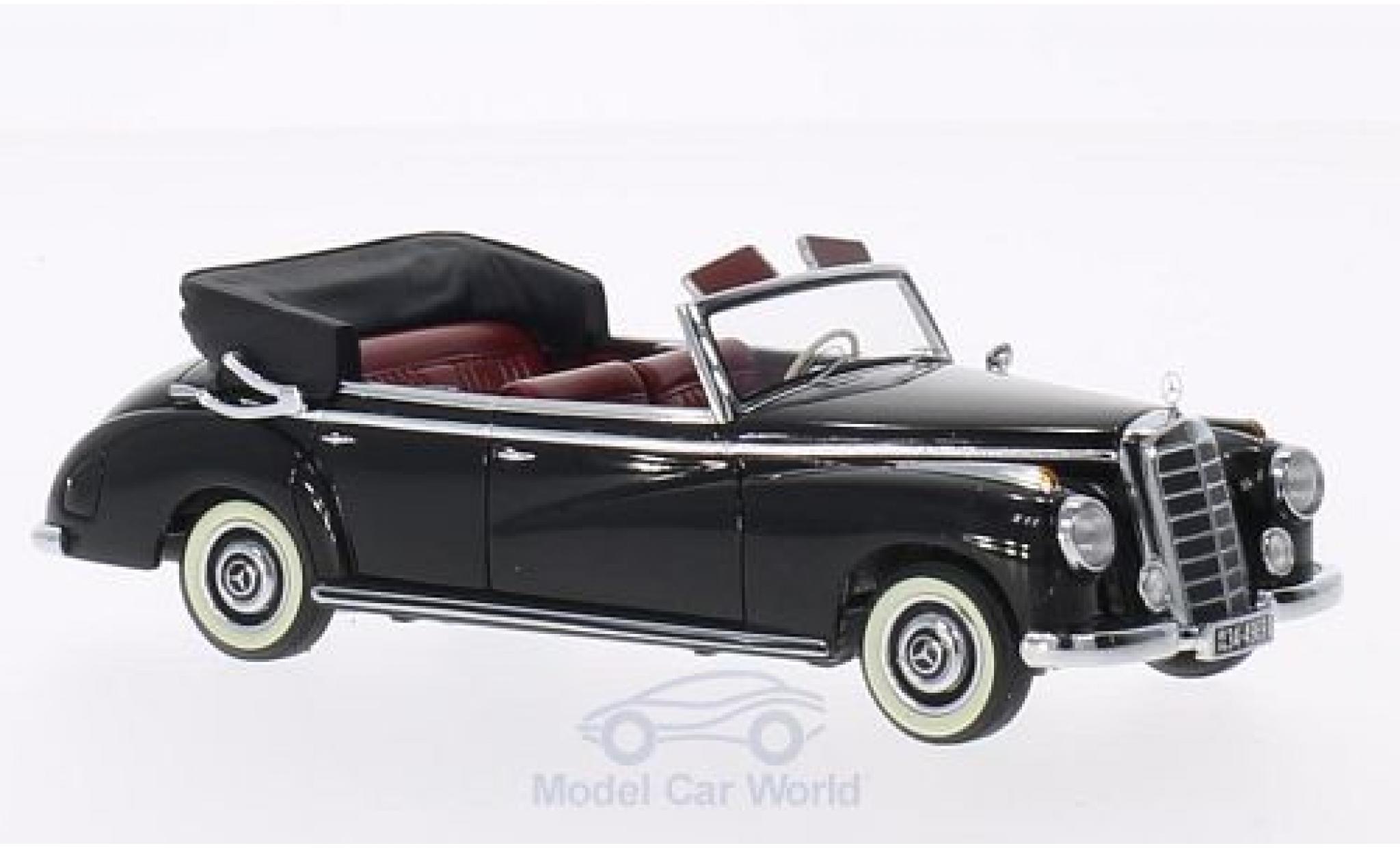 Mercedes 300 1/43 Minichamps Cabriolet (W186) noire 1952