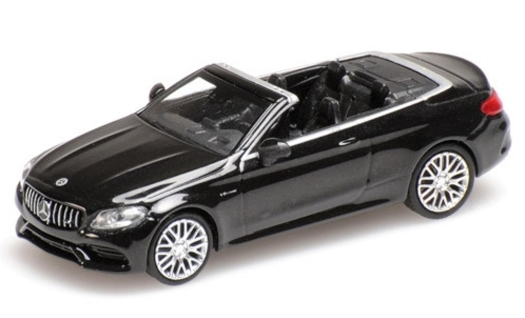 Mercedes Classe C 1/87 Minichamps AMG C63 Cabriolet (A205) metallise noire 2019