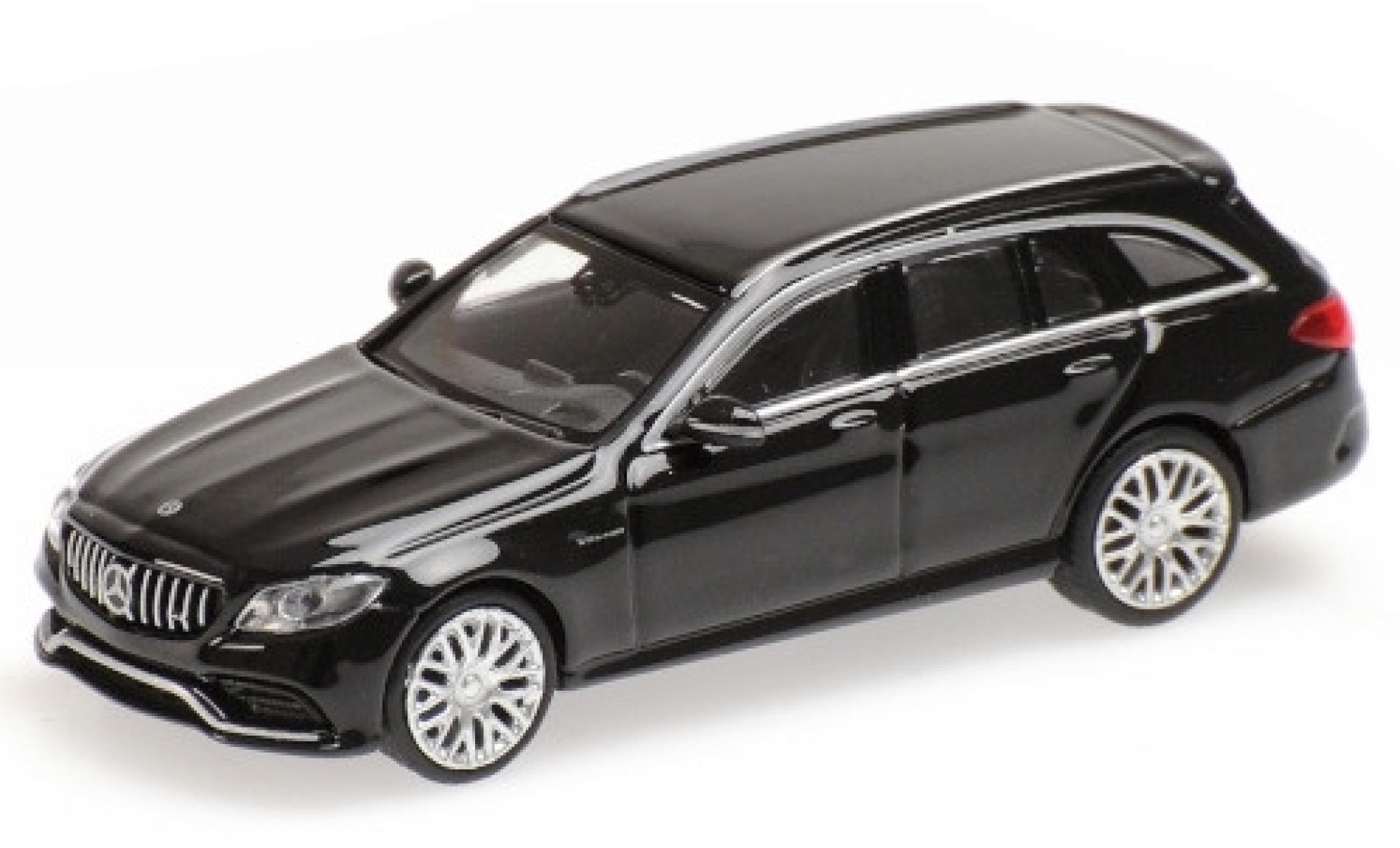 Mercedes Classe C 1/87 Minichamps AMG C63 T-Modell (S205) metallise noire 2019