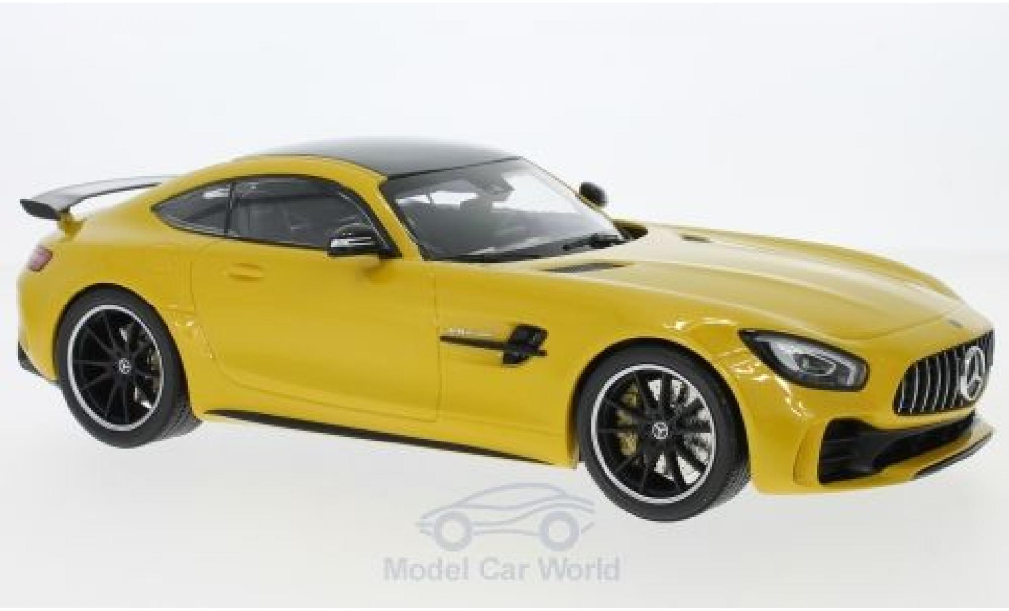 Mercedes AMG GT 1/18 Minichamps -R yellow/black 2017
