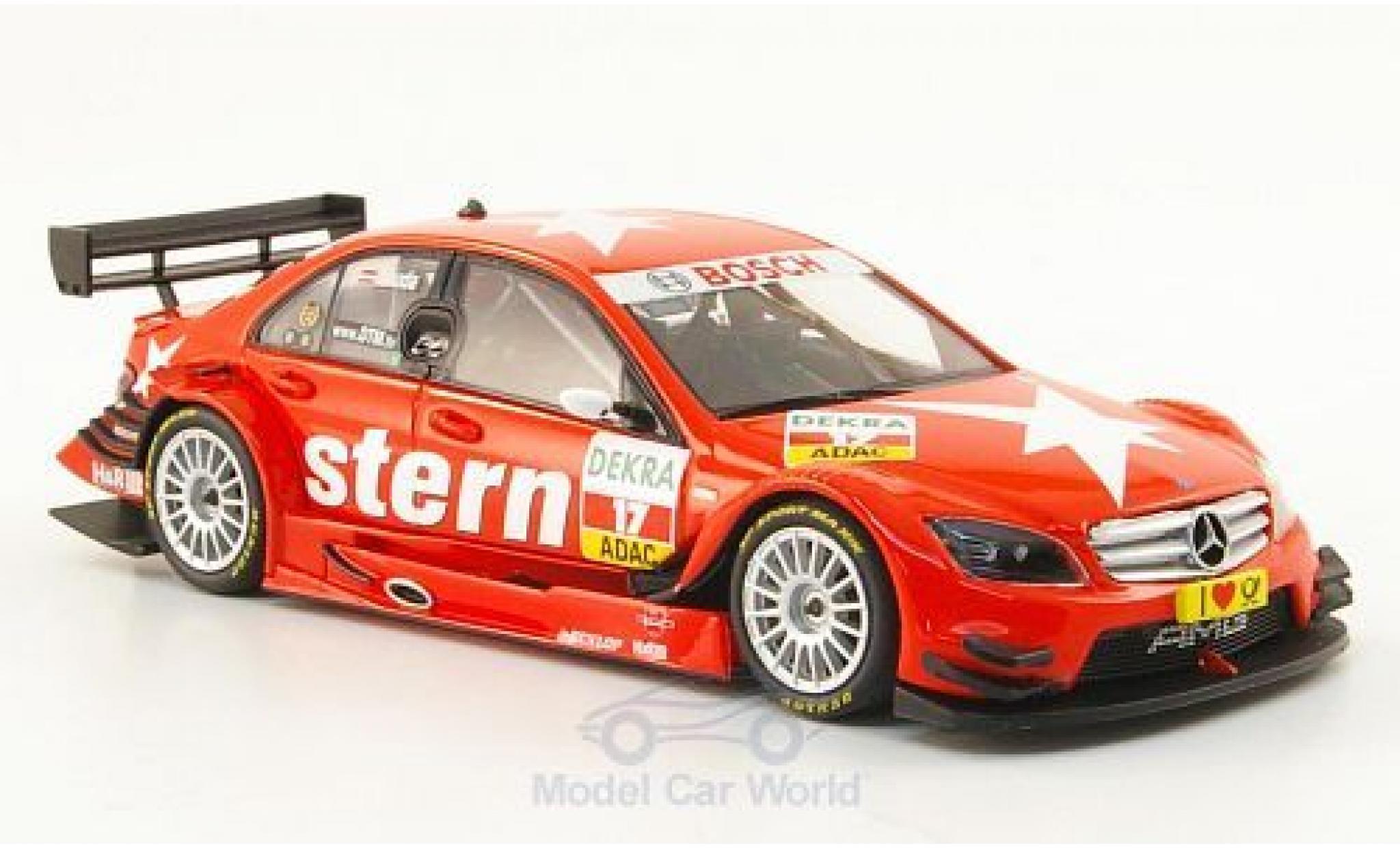 Mercedes Classe C DTM 1/43 Minichamps DTM (2008) No.17 Team Stern Stern DTM 2009 M.Lauda