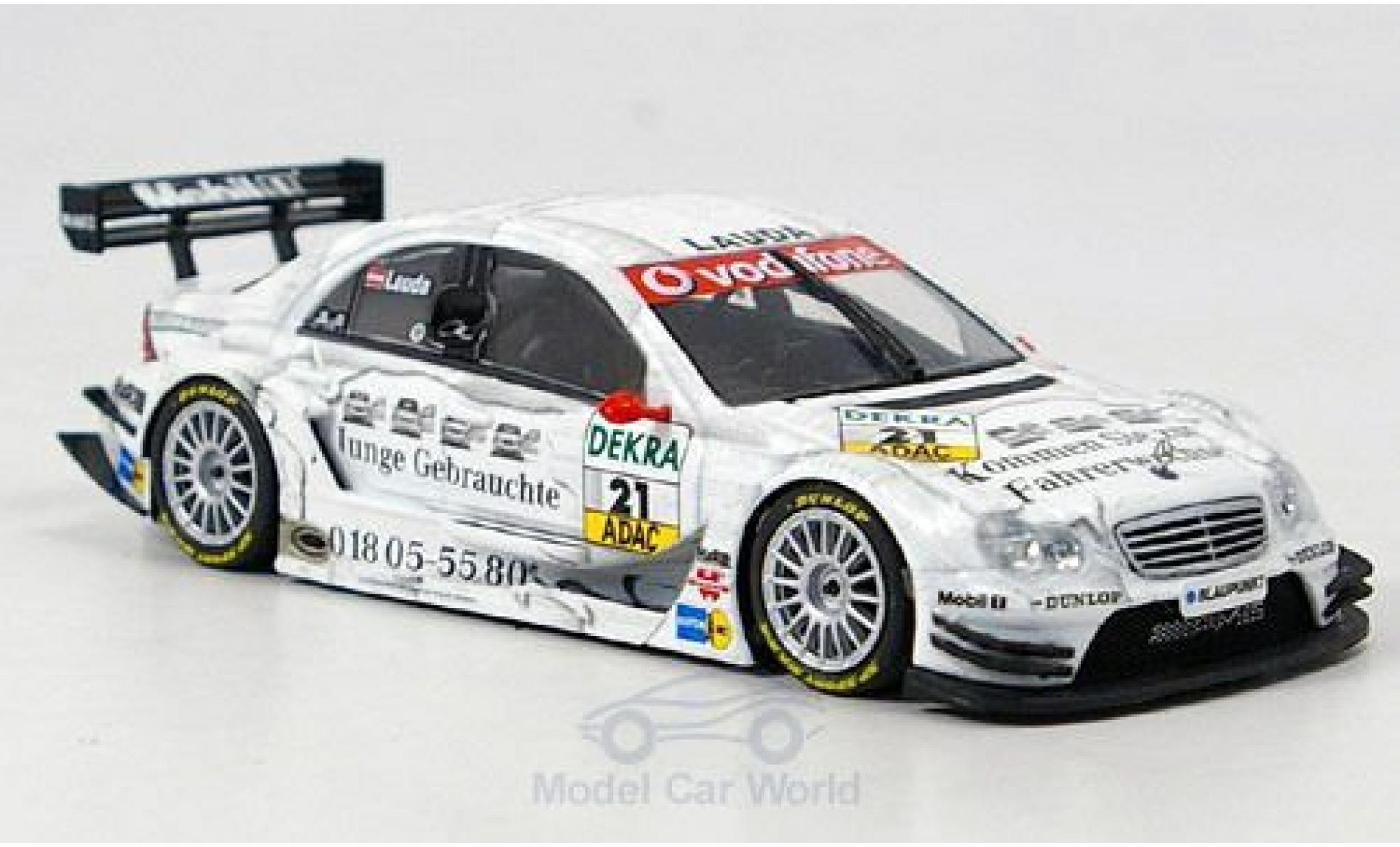 Mercedes Classe C DTM 1/43 Minichamps No.21 Team Persson 2005 M.Lauda