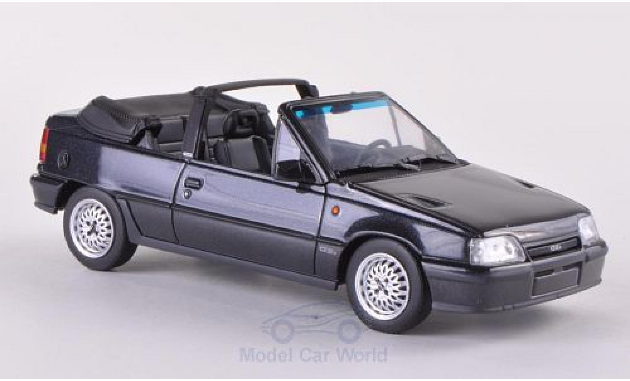 Opel Kadett 1/43 Minichamps E GSi Cabriolet metallise grise 1989