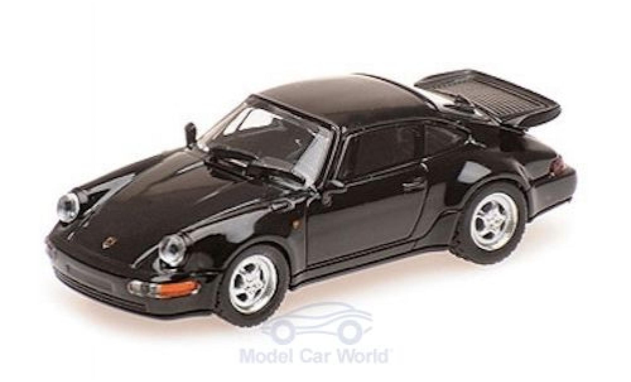 Porsche 911 1/87 Minichamps (964) Turbo noire 1990