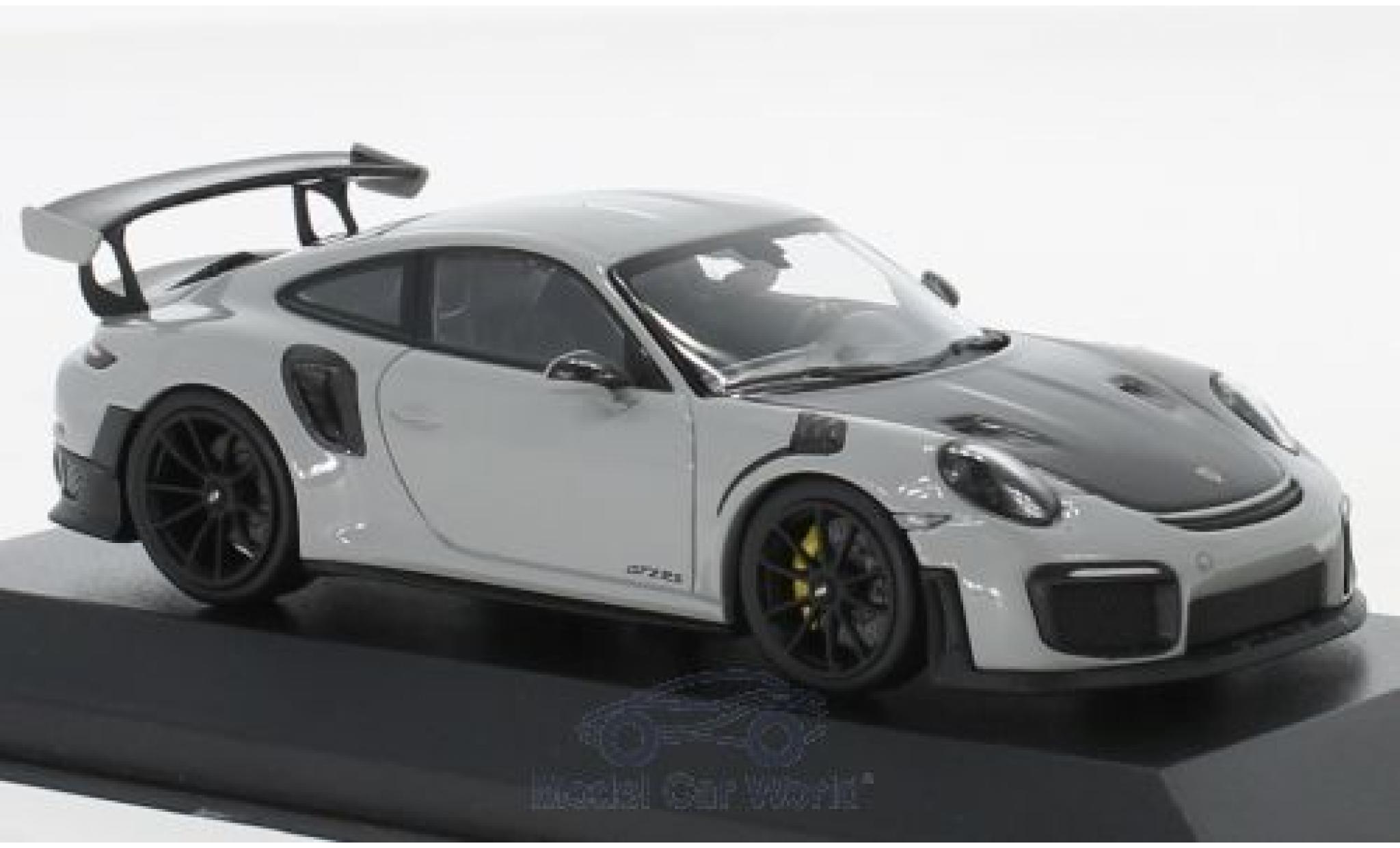 Porsche 991 GT2 RS 1/43 Minichamps 911 (.2) grey/black 2018
