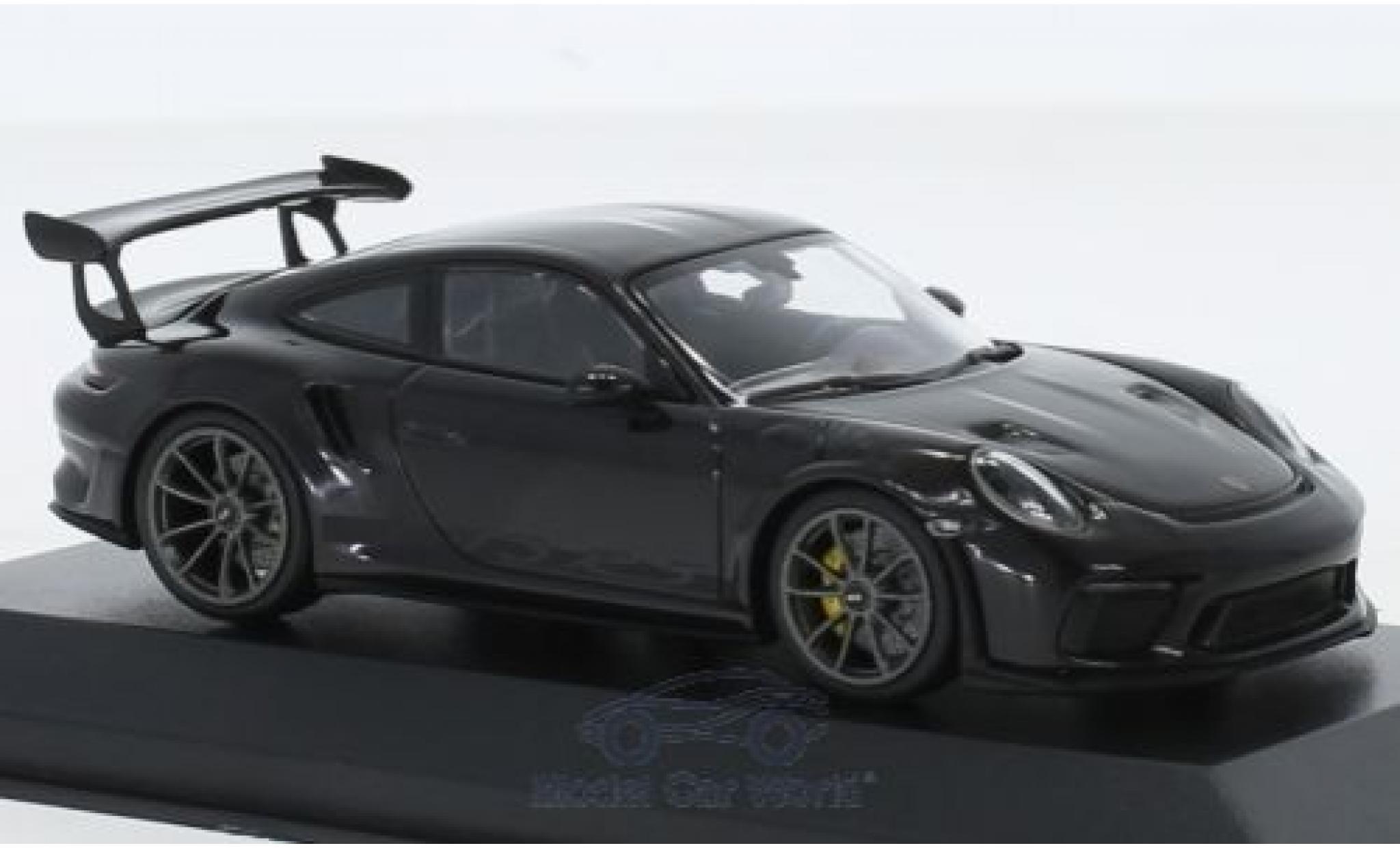 Porsche 991 GT3 RS 1/43 Minichamps 911 (.2) black 2018