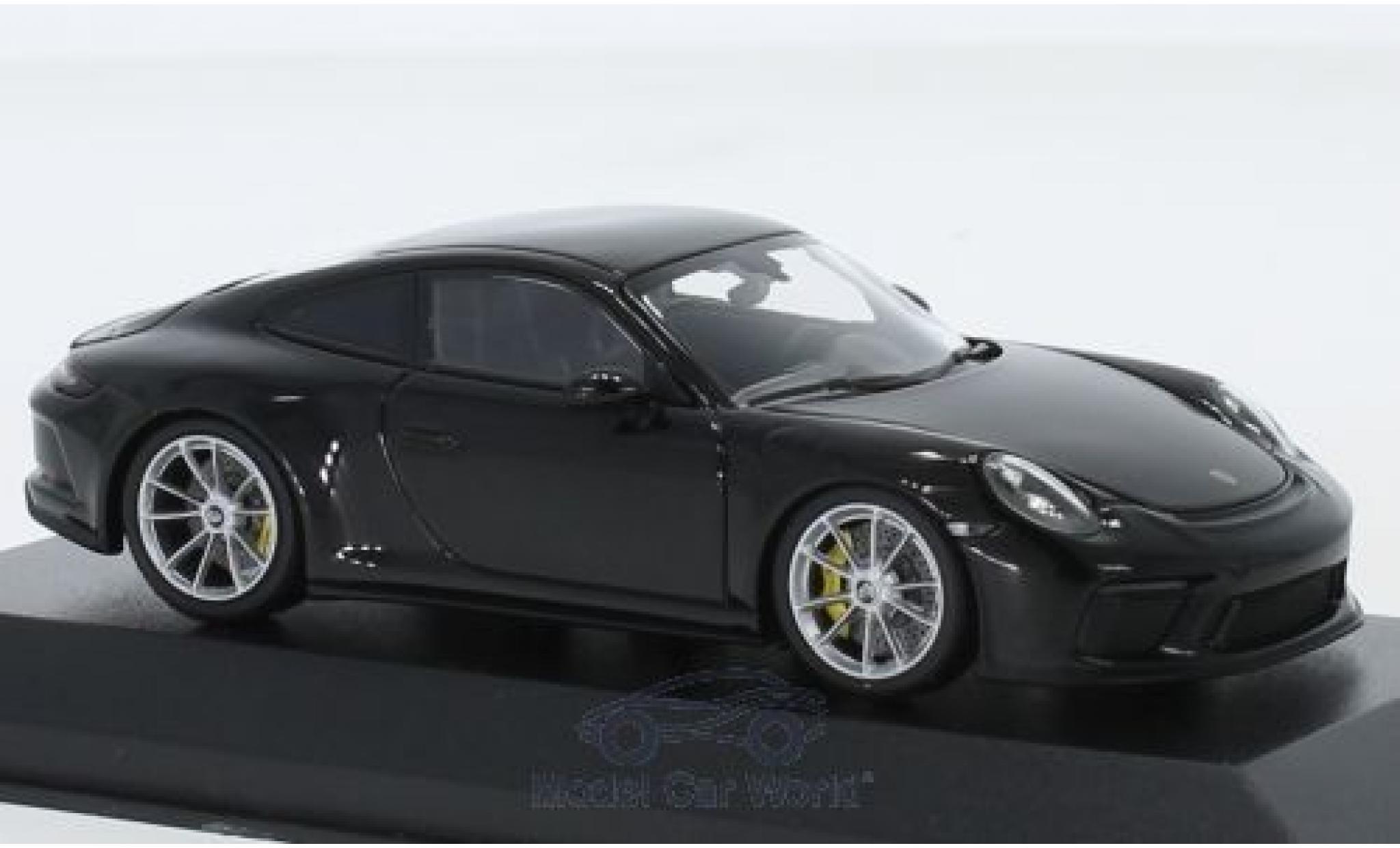 Porsche 911 1/43 Minichamps (991.2) GT3 Touring métallisé noire 2018