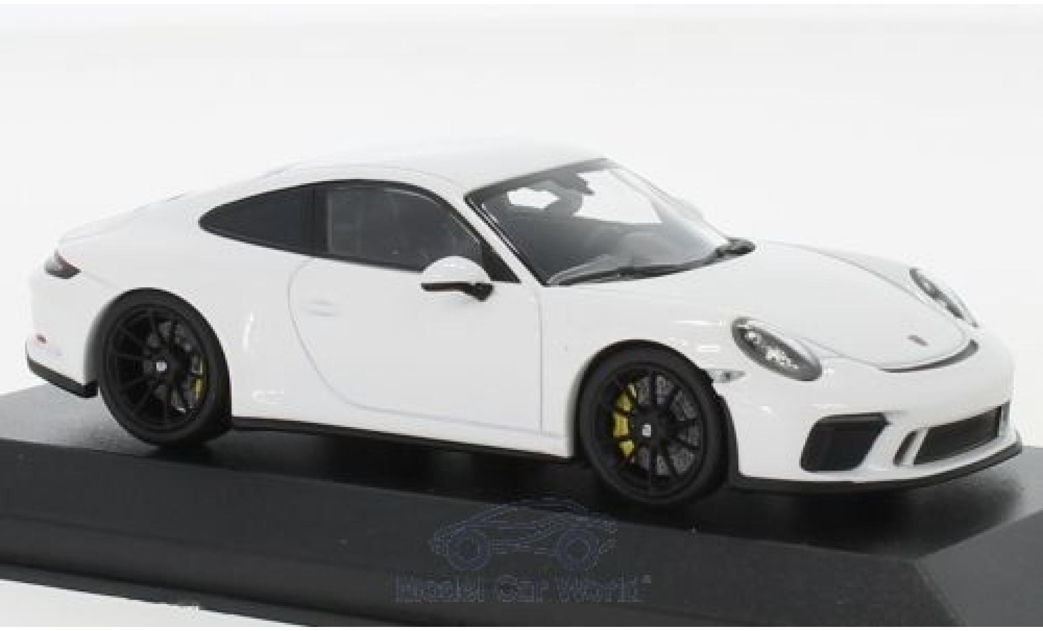 Porsche 991 GT3 1/43 Minichamps 911 (.2) Touring blanche 2018