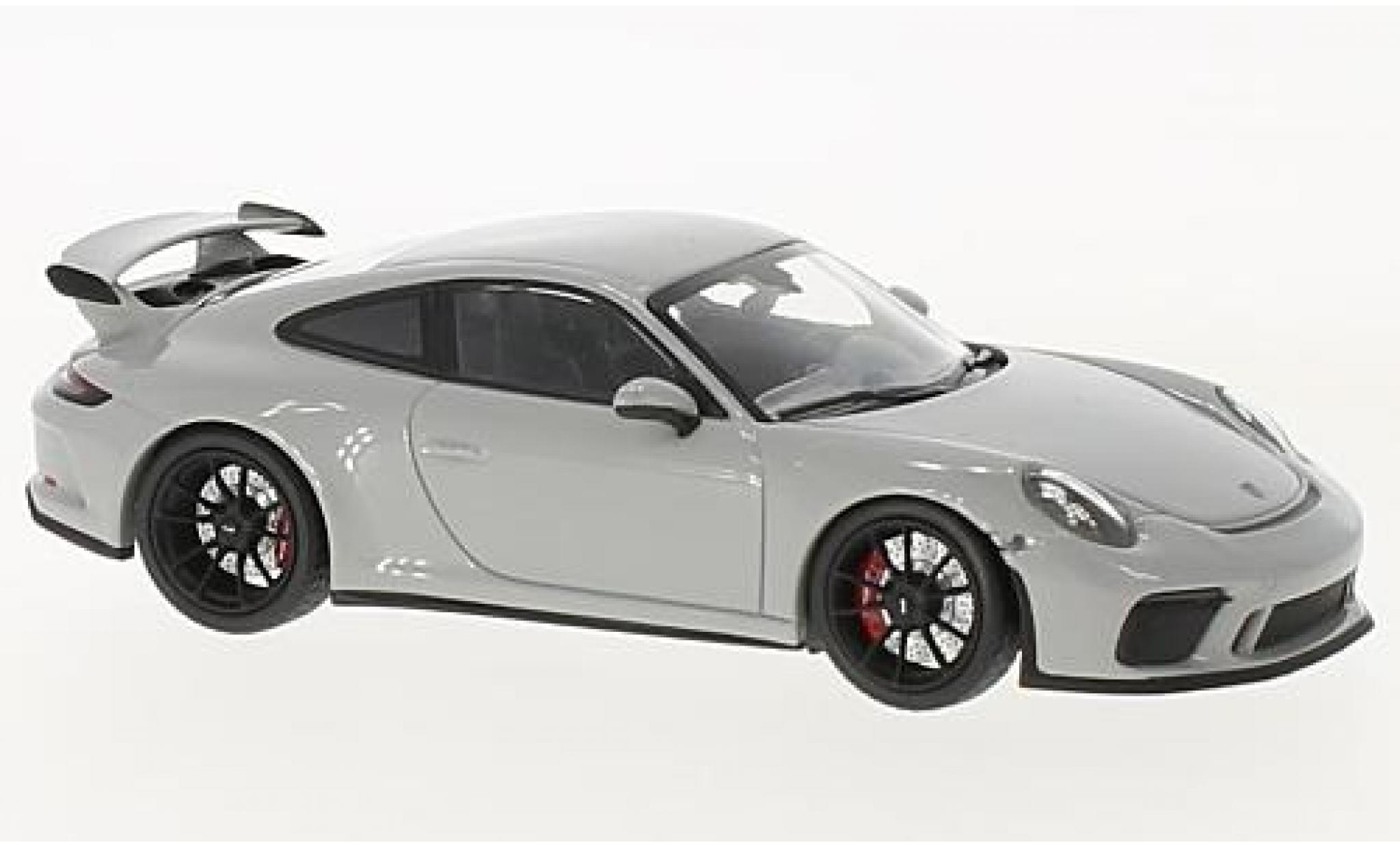 Porsche 991 GT3 1/43 Minichamps 911  grey 2017