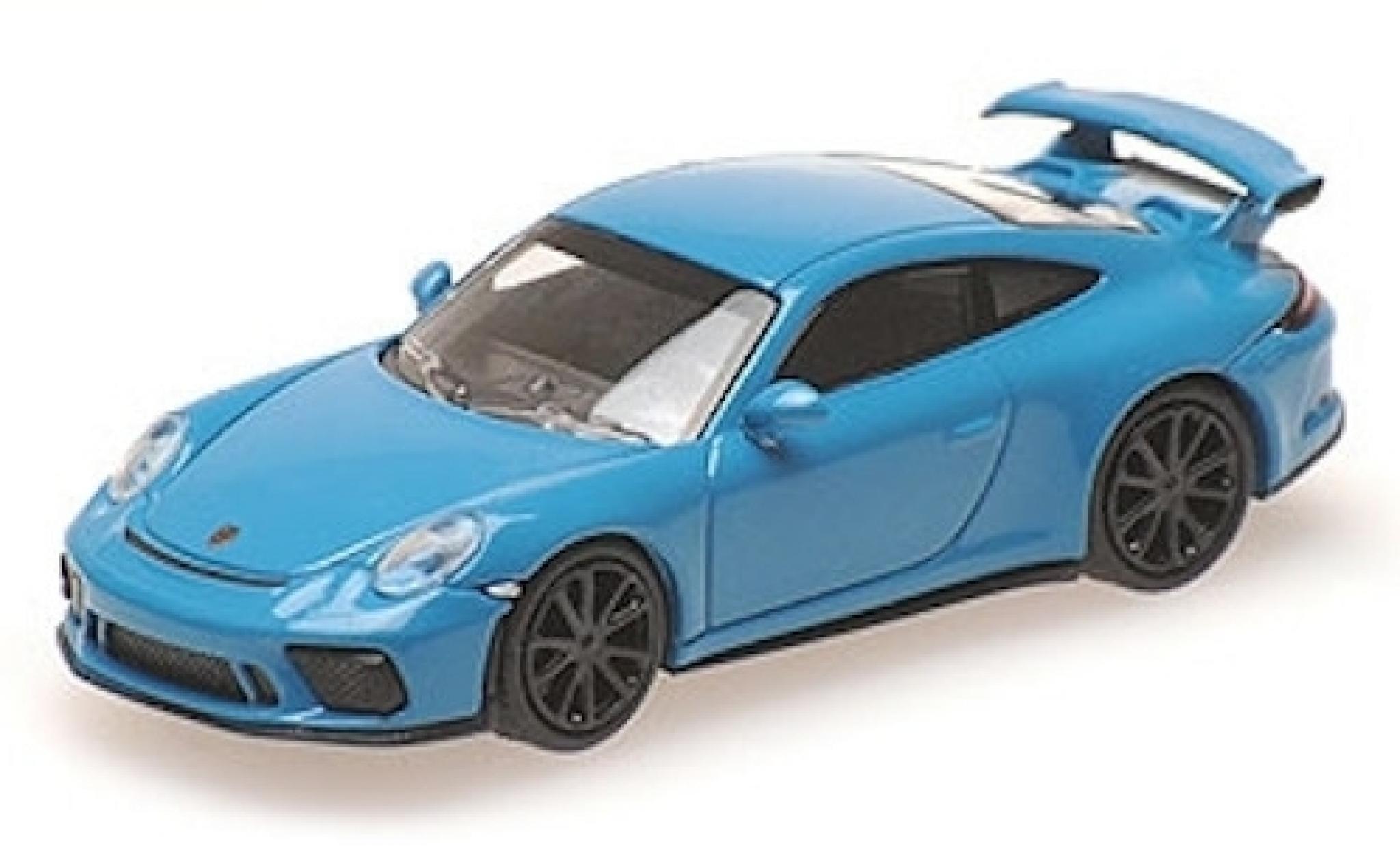 Porsche 911 1/87 Minichamps (991) GT3 bleue 2017