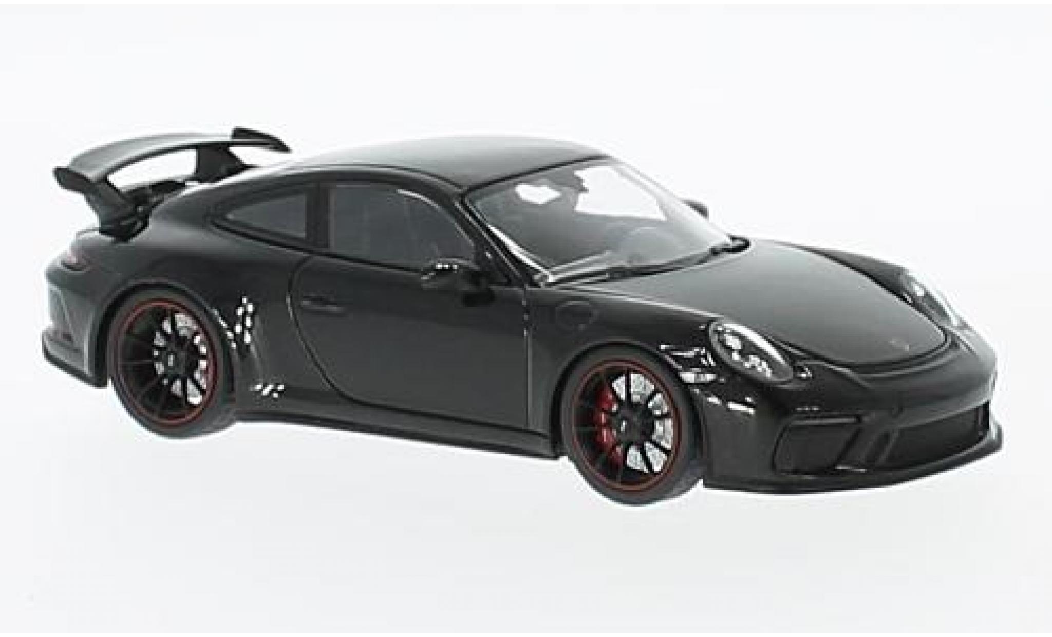 Porsche 991 GT3 1/43 Minichamps 911  metallise black 2017