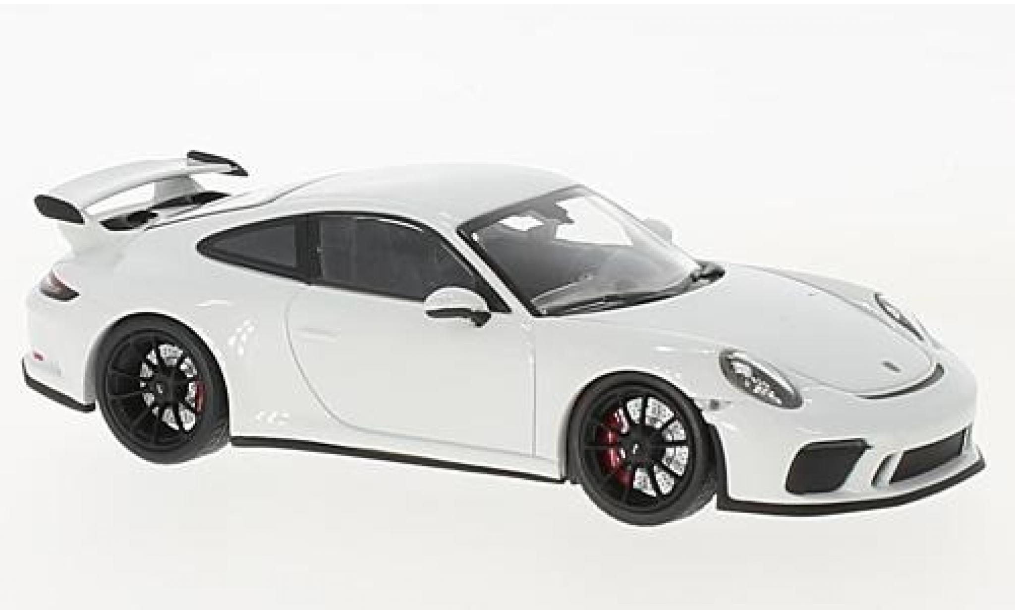 Porsche 991 GT3 1/43 Minichamps 911  white 2017