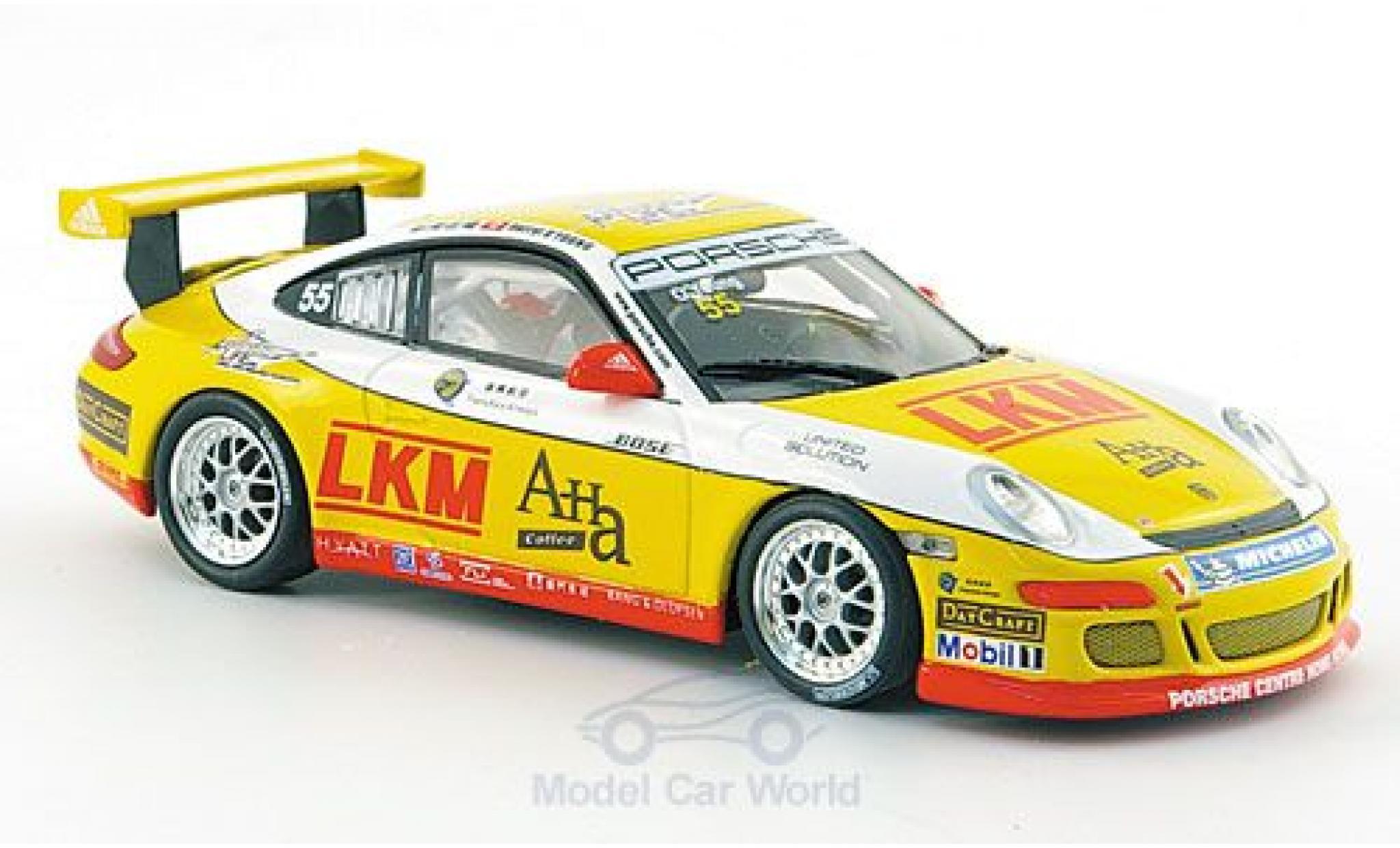 Porsche 997 SC 1/43 Minichamps GT3 Cup No.55 Asian Carrera Cup Macau 2007 O Young