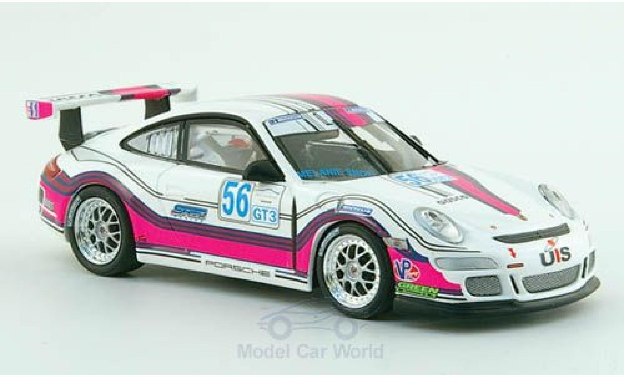 Porsche 997 SC 1/43 Minichamps GT3 Cup No.56 Team Snow Racing Le Mans 2008 M.Snow