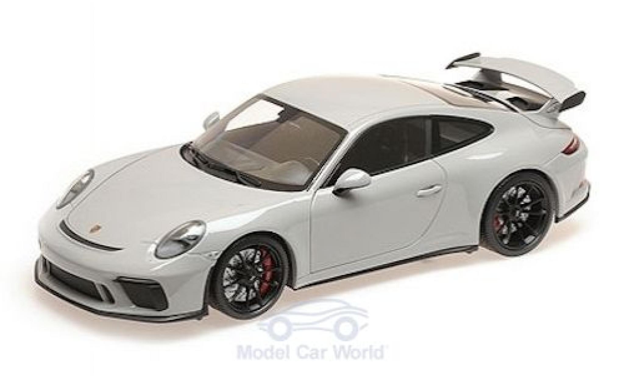 Porsche 991 GT3 1/18 Minichamps 911 grise 2017