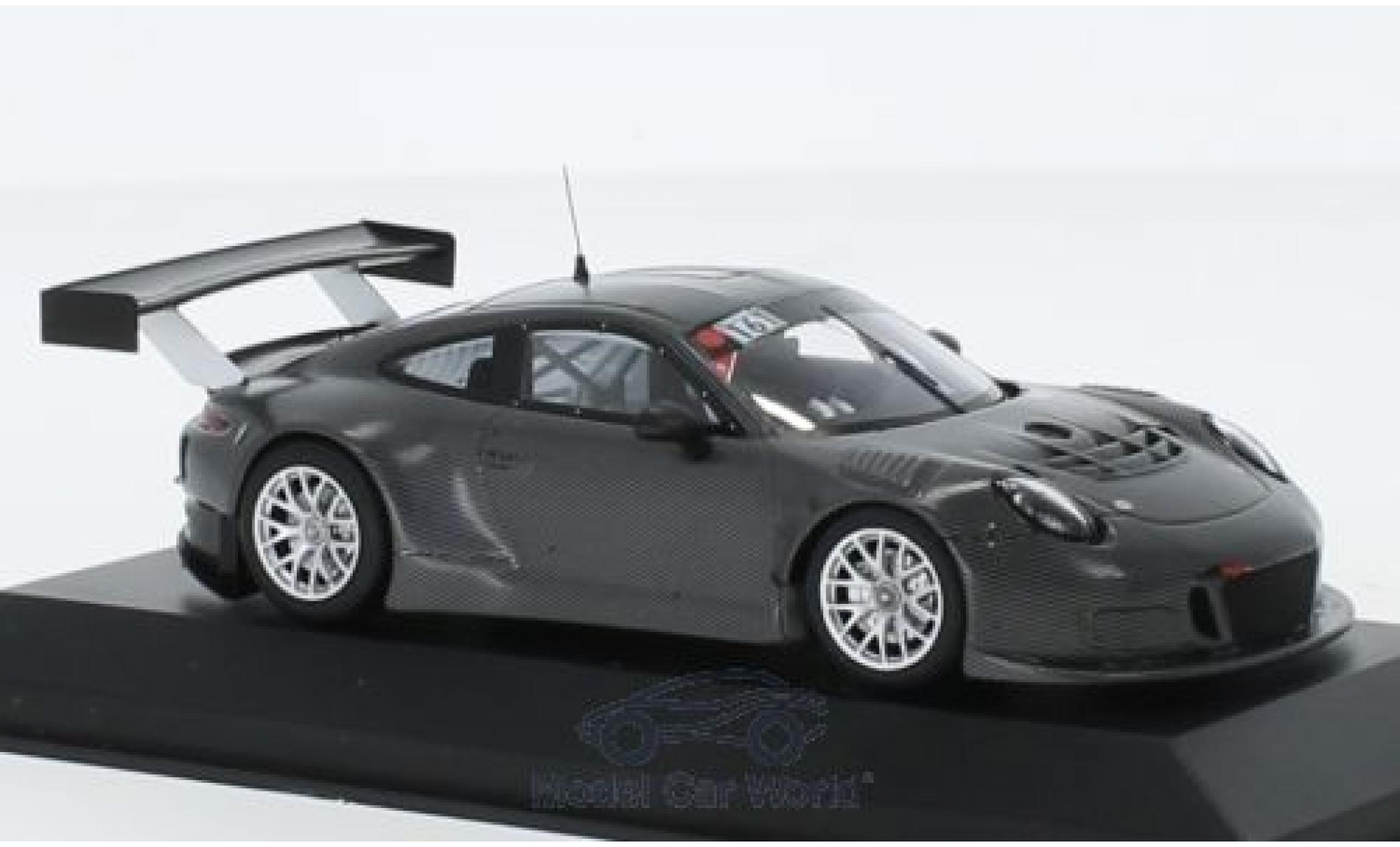 Porsche 991 GT3 R 1/43 Minichamps 911  No.161 Manthey Racing Test Nürburgring 2015