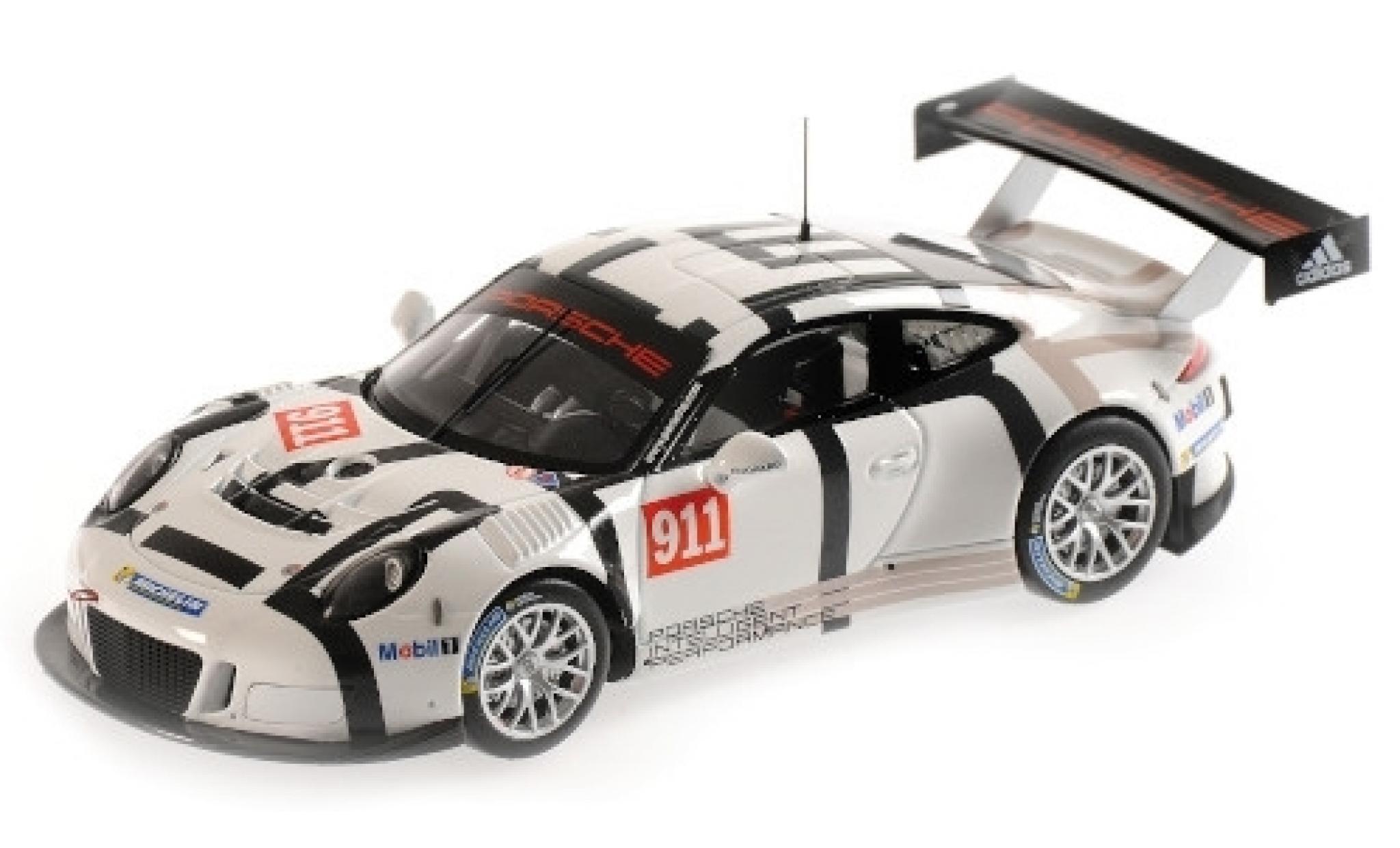 Porsche 991 GT3 R 1/43 Minichamps 911  No.911 2015 véhicule de présentation