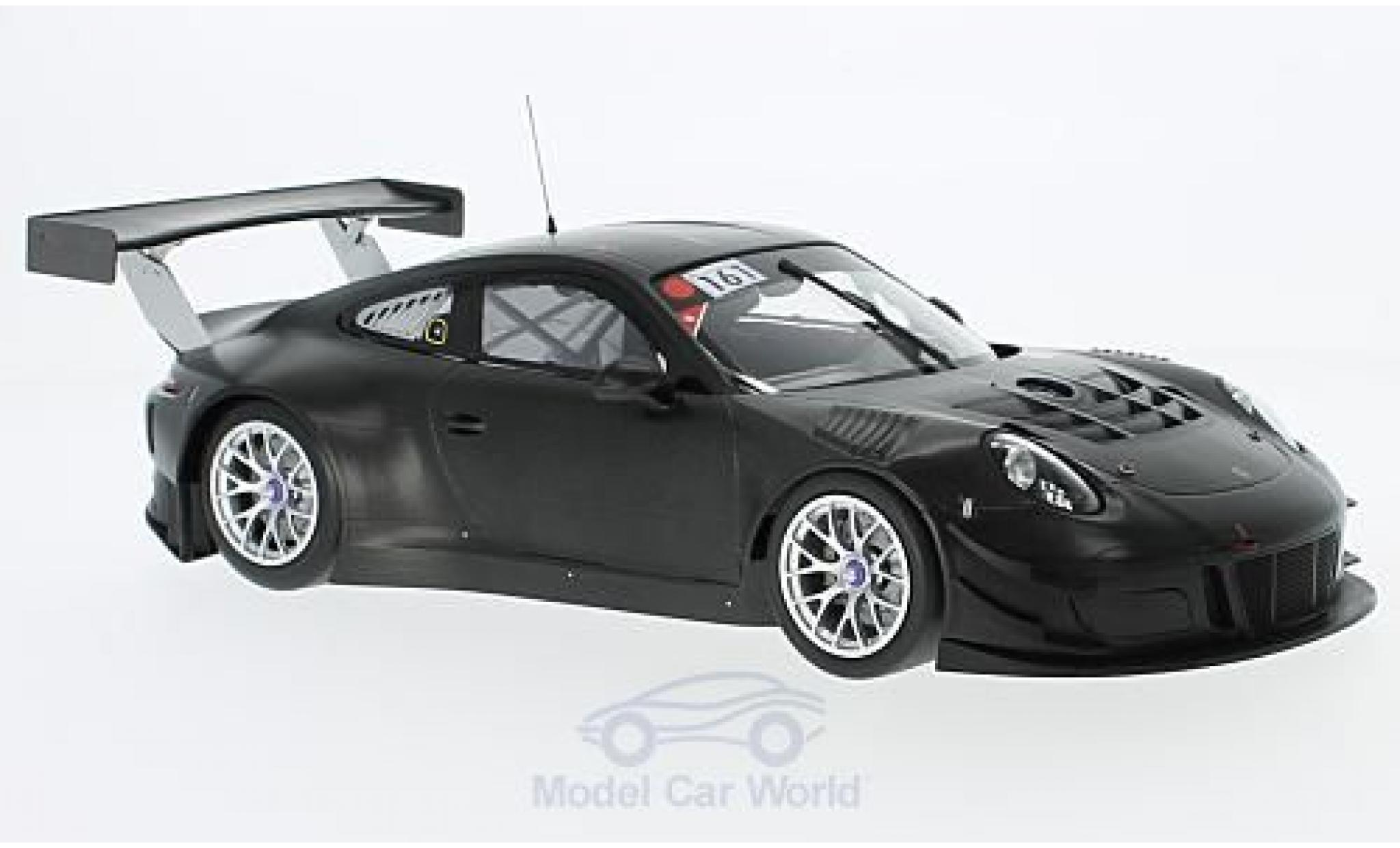 Porsche 991 GT3 R 1/18 Minichamps 911 Manthey Racing Test Nürburgring 2015