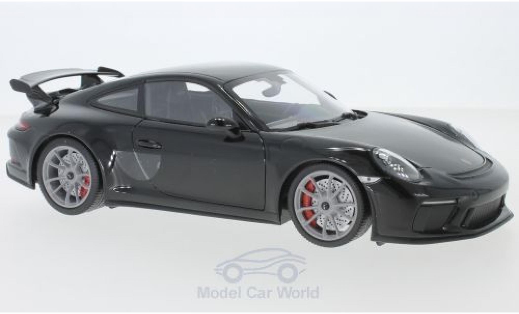 Porsche 911 1/18 Minichamps GT3 noire 2017