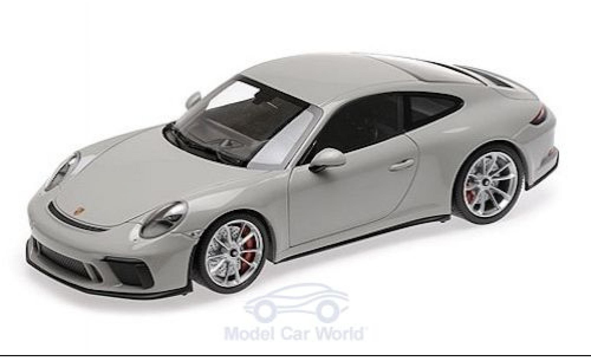Porsche 911 1/18 Minichamps GT3 Touring (991 II) grise 2018