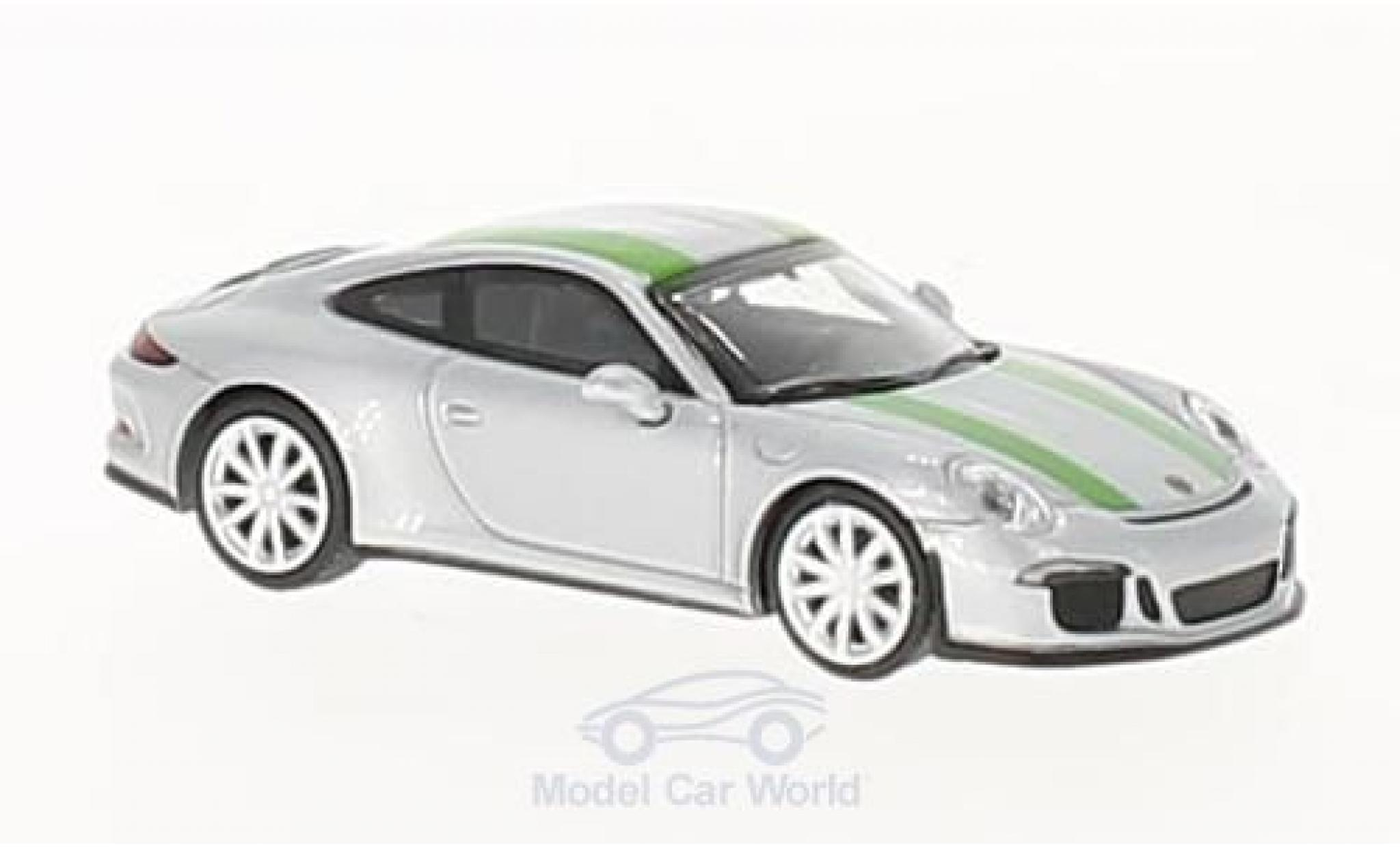 Porsche 991 R 1/87 Minichamps 911 grey/green 2016