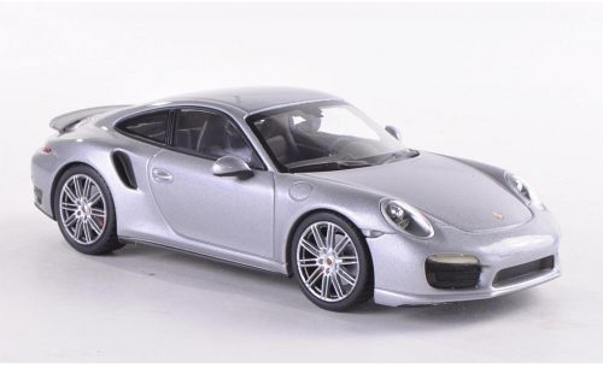 Porsche 991 Turbo 1/43 Minichamps 911  grey 2013