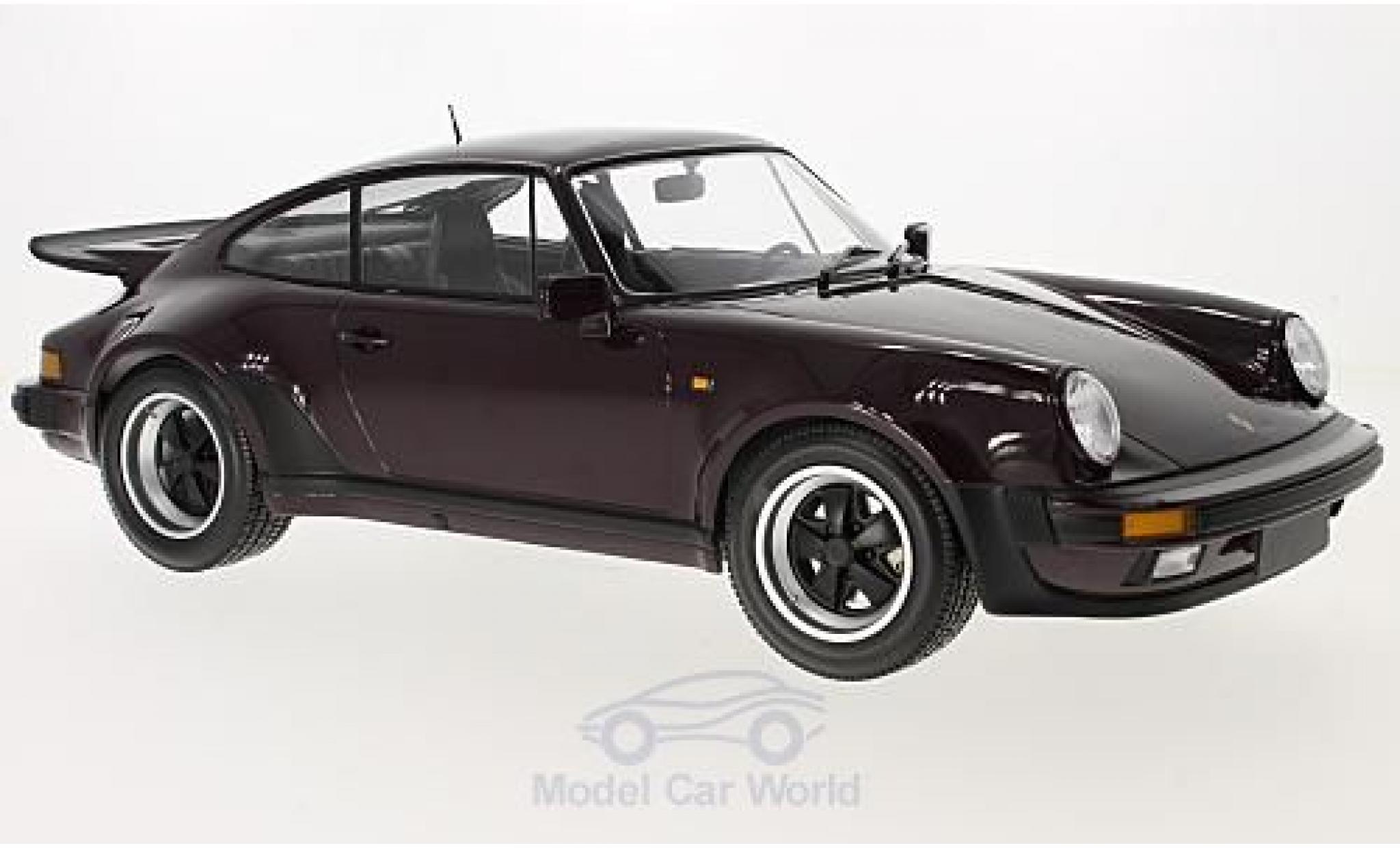 Porsche 930 Turbo 1/12 Minichamps 911 violette 1977