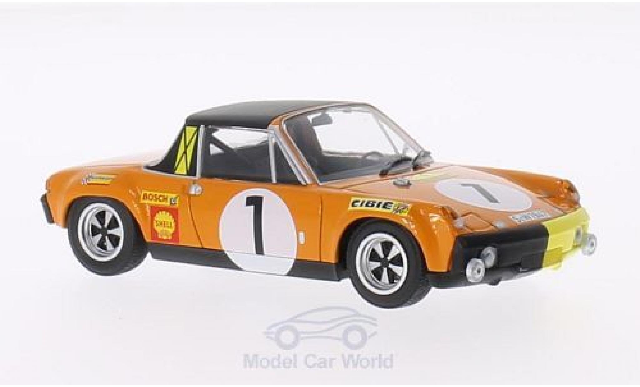 Porsche 914 1/43 Minichamps /6 No.1 Marathon de la Route 1970 G.Larrousse/C.Haldi/H.Marko